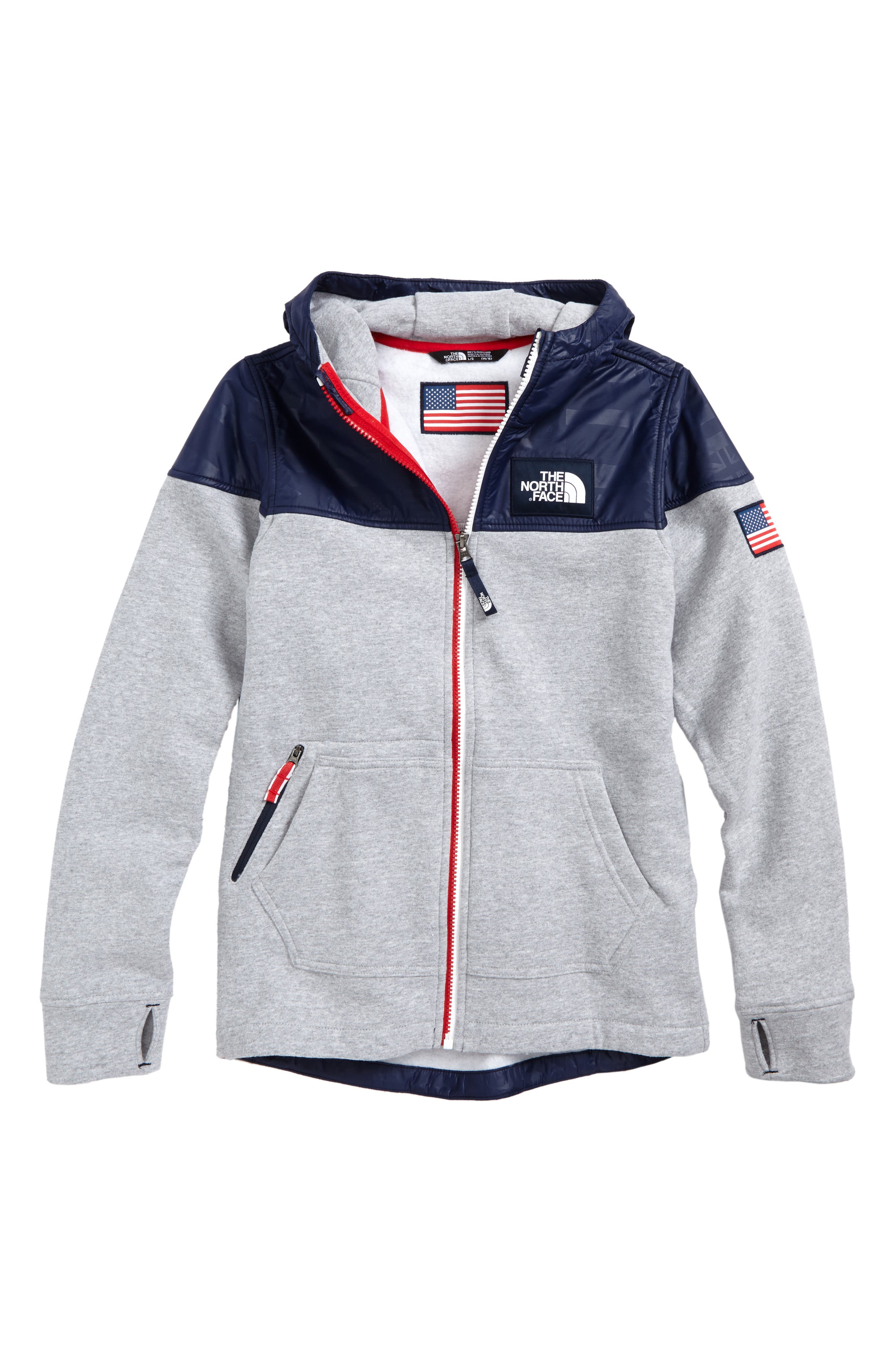 International Collection Zip Hoodie,                             Main thumbnail 2, color,