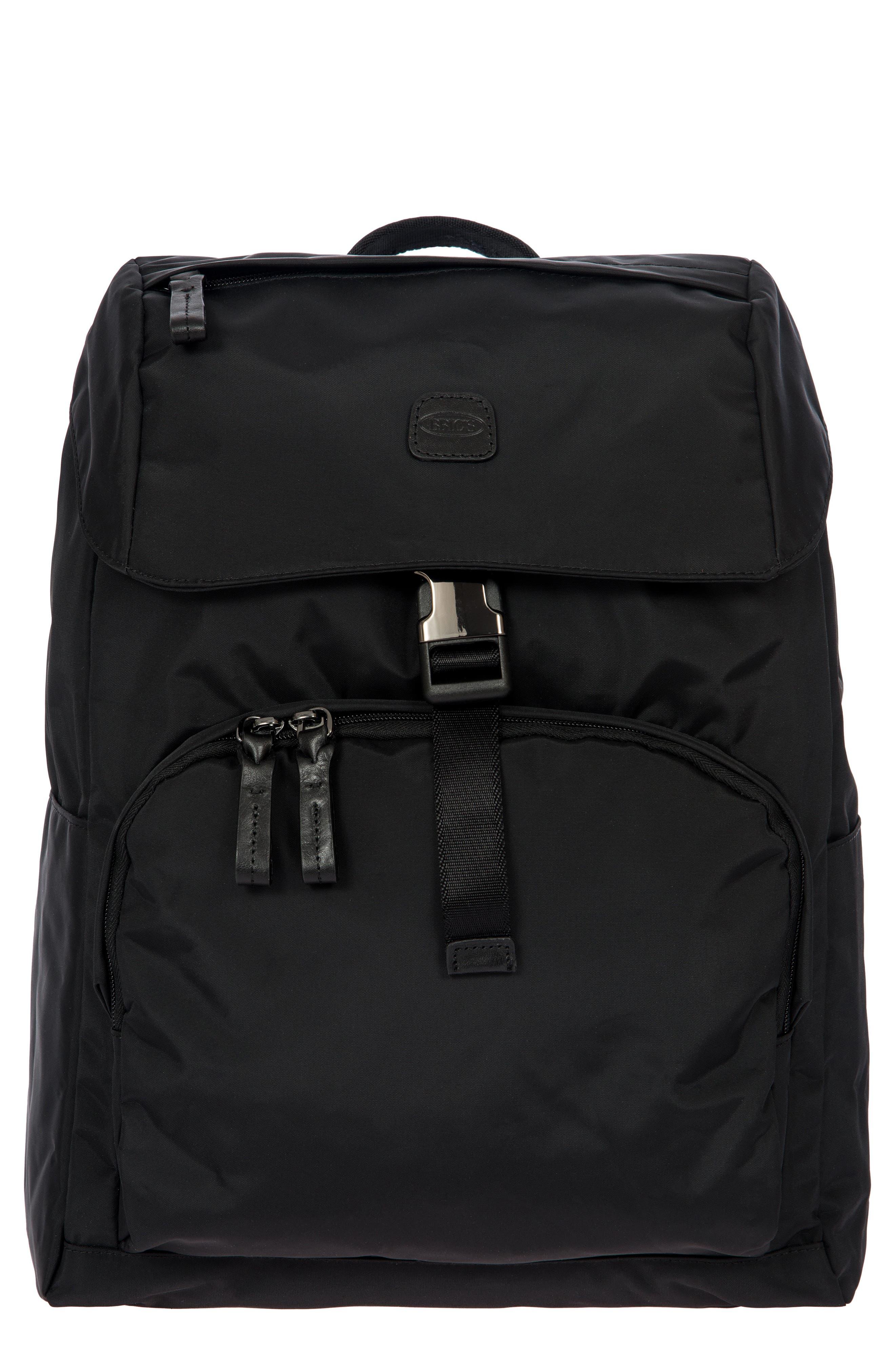 X-Bag Travel Excursion Backpack,                         Main,                         color, BLACK/ BLACK