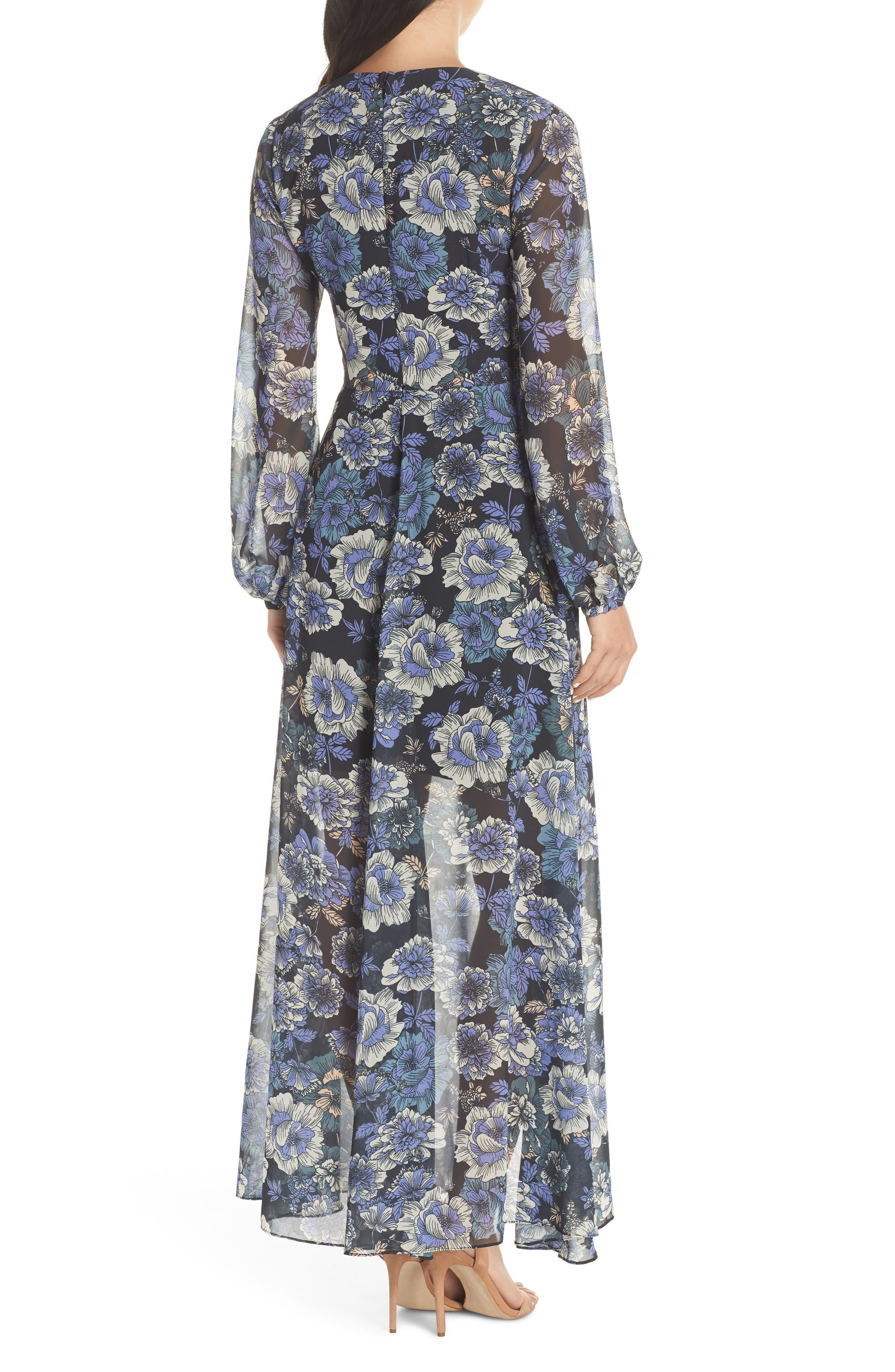 COOPER ST,                             Floral Fantasy Maxi Dress,                             Alternate thumbnail 2, color,                             PRINT