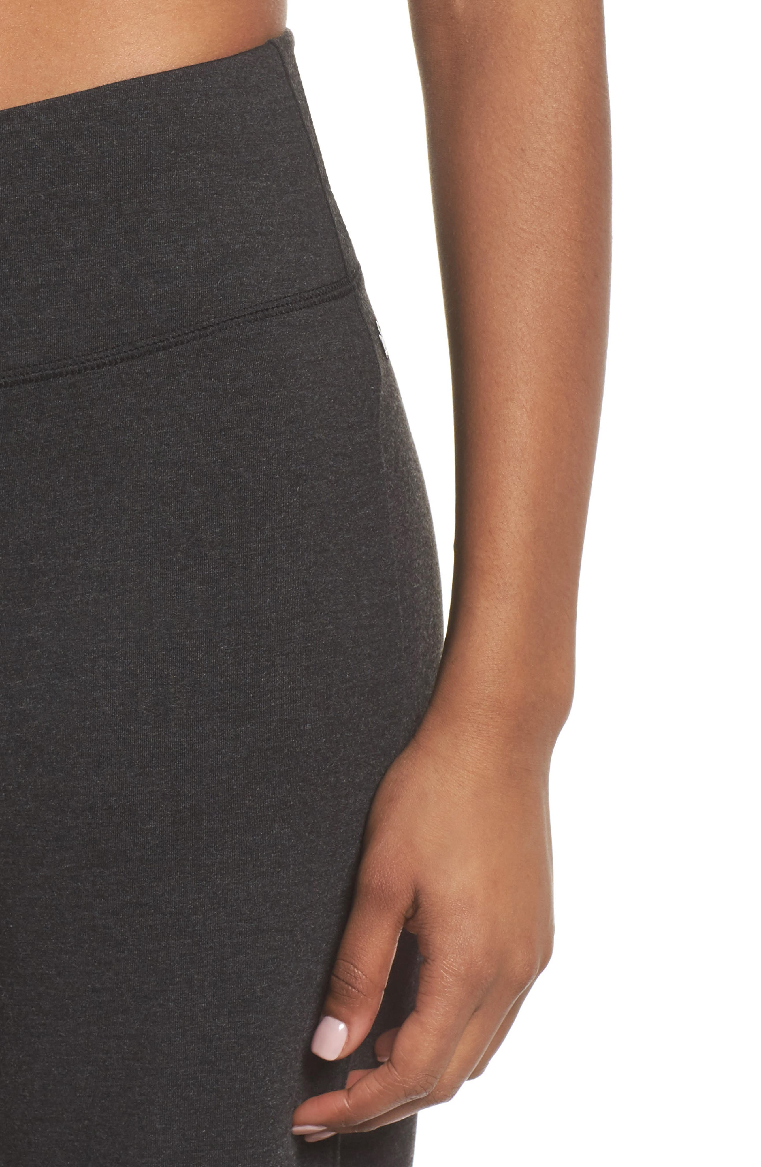 Go With The Flow Pants,                             Alternate thumbnail 4, color,                             GREY DARK CHARCOAL HEATHER
