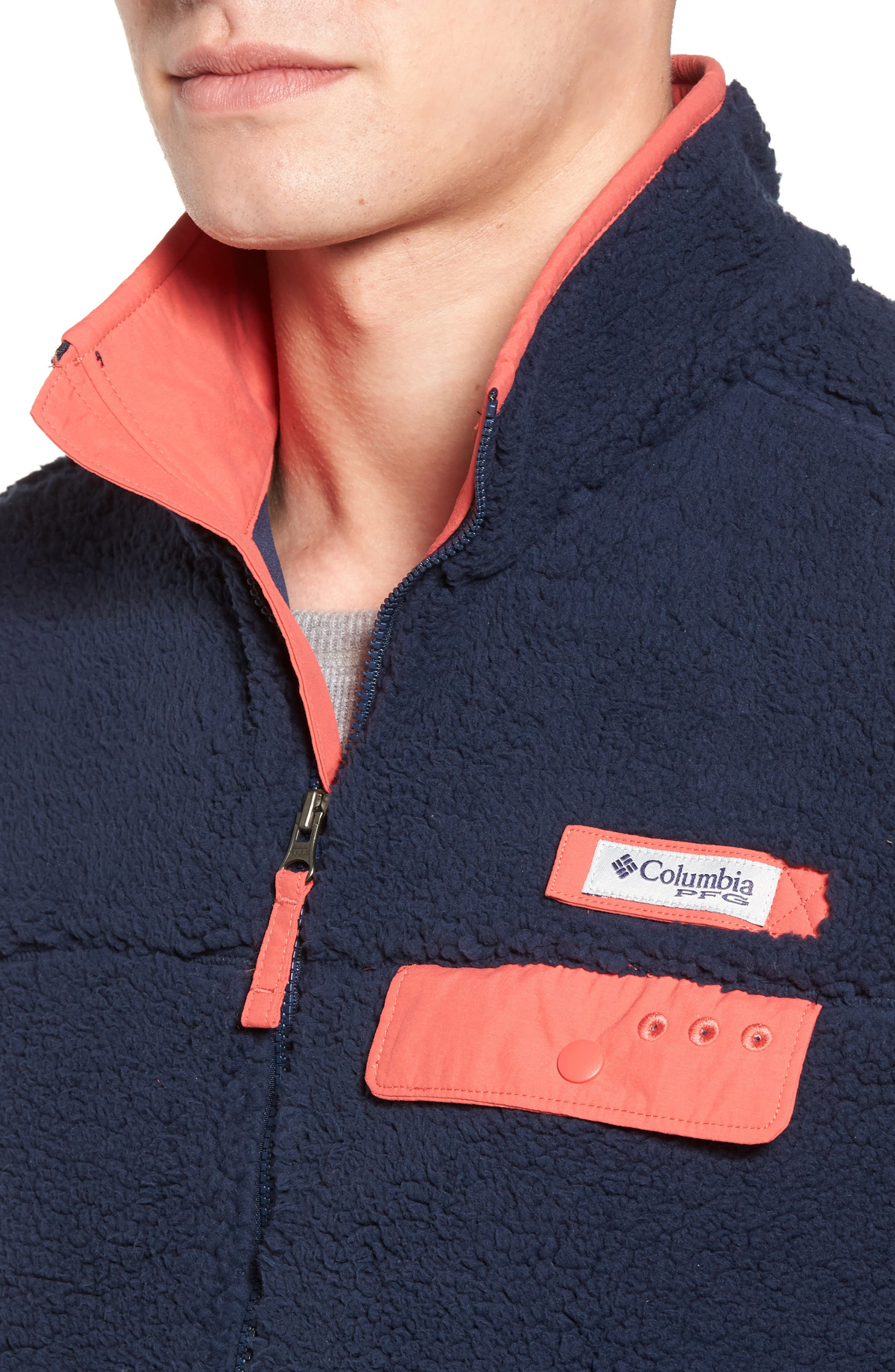 Sportswear Harborside Heavyweight Fleece Vest,                             Alternate thumbnail 12, color,