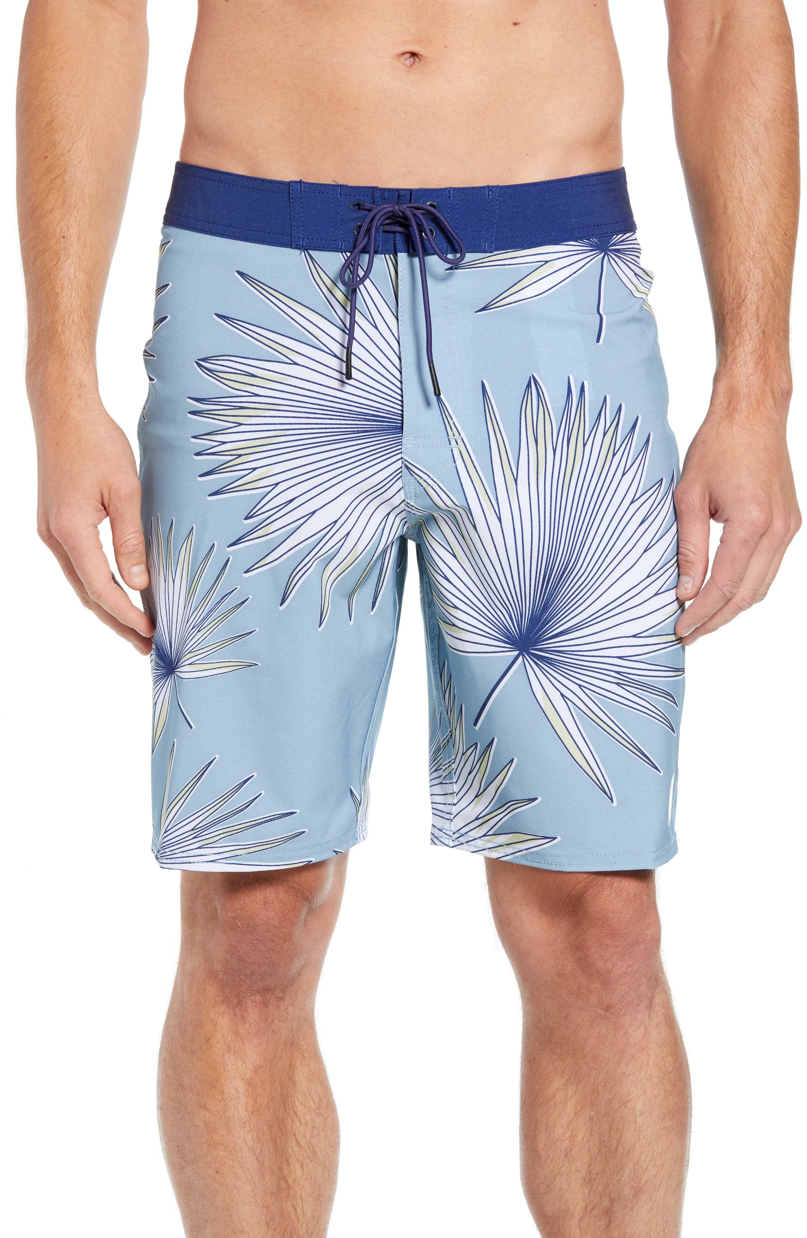 Varca Board Shorts,                         Main,                         color, DUSTY BLUE
