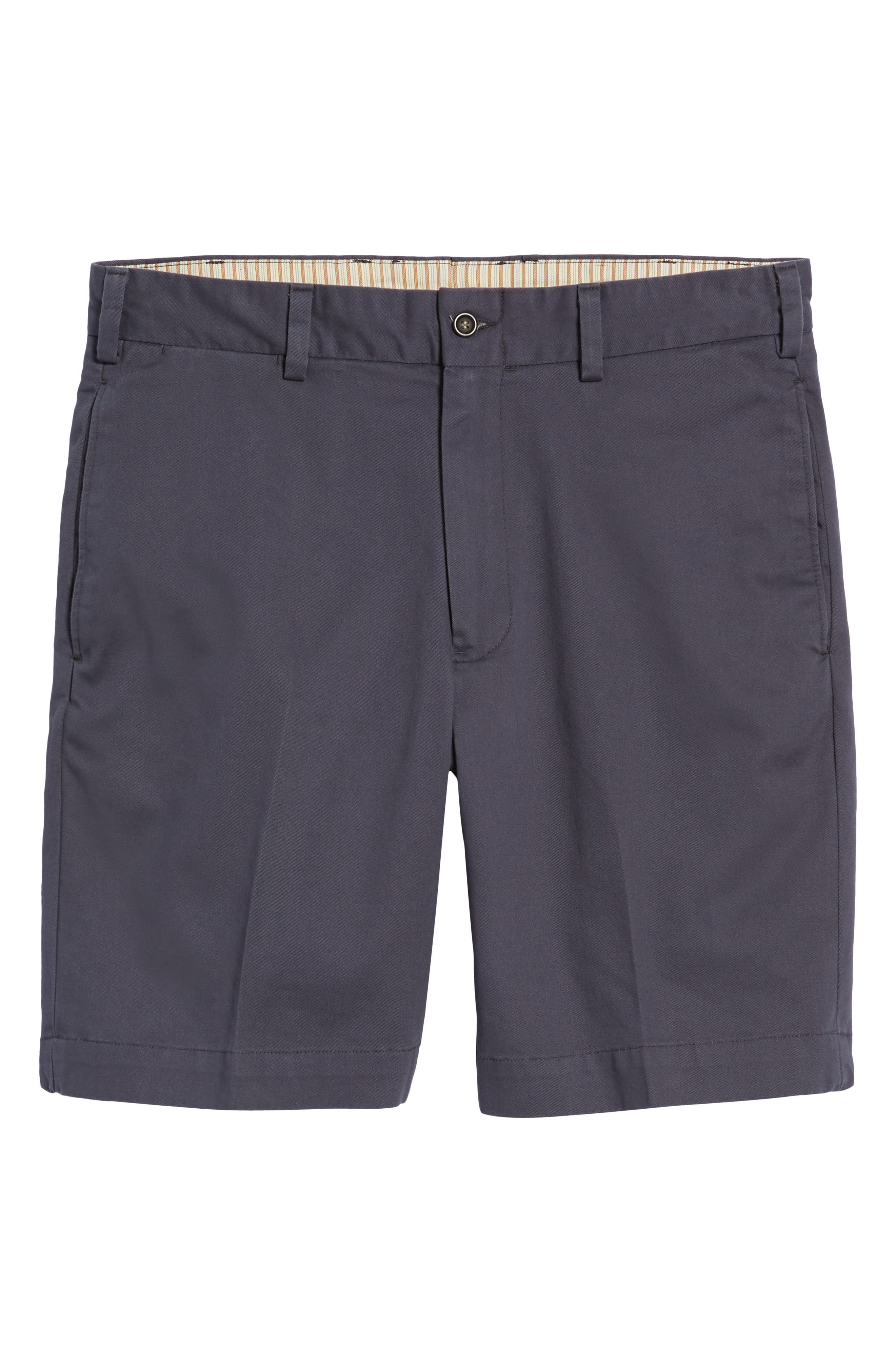 M2 Classic Fit Flat Front Vintage Twill Shorts,                             Alternate thumbnail 6, color,
