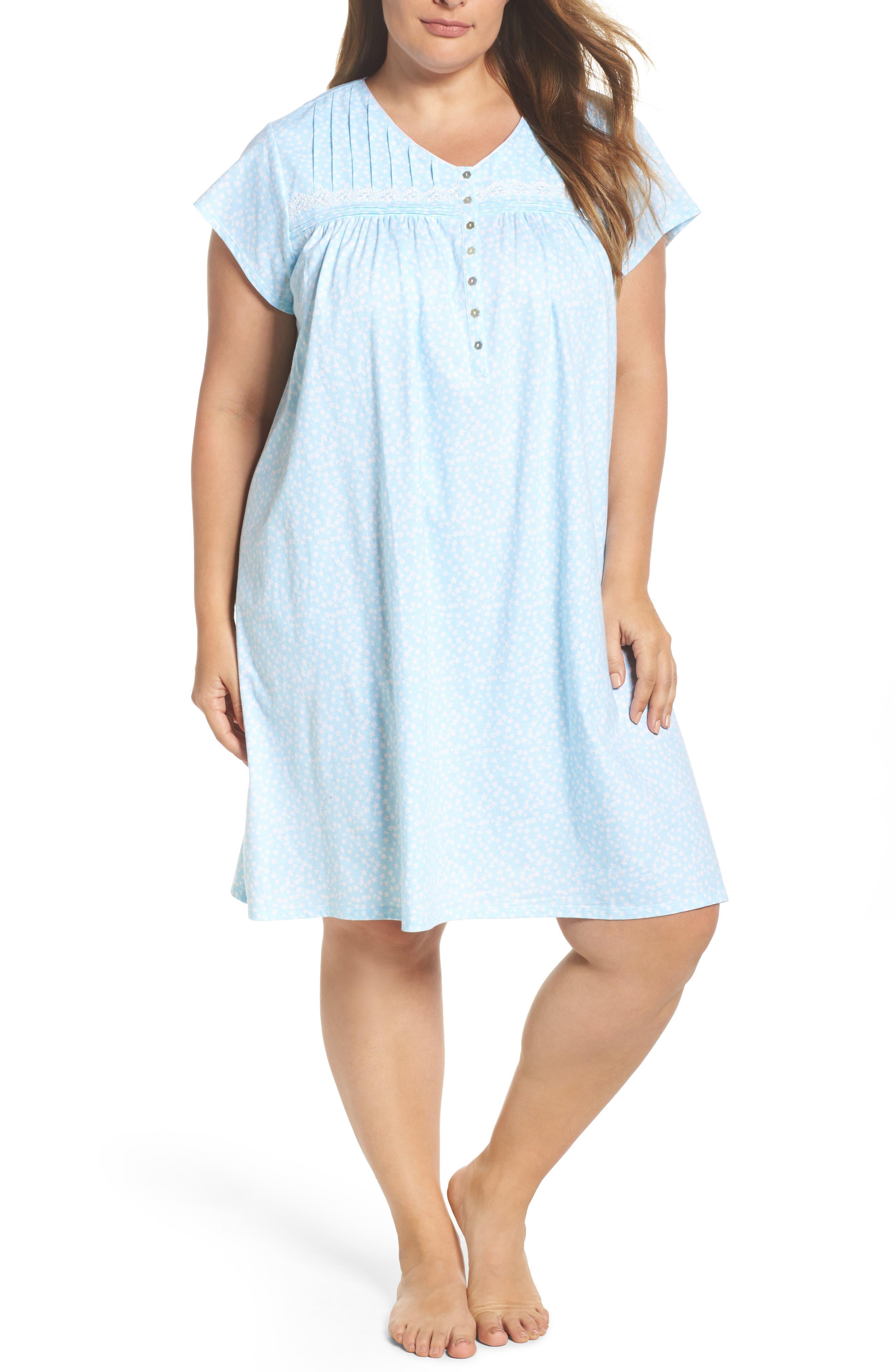 Short Nightgown,                             Main thumbnail 2, color,
