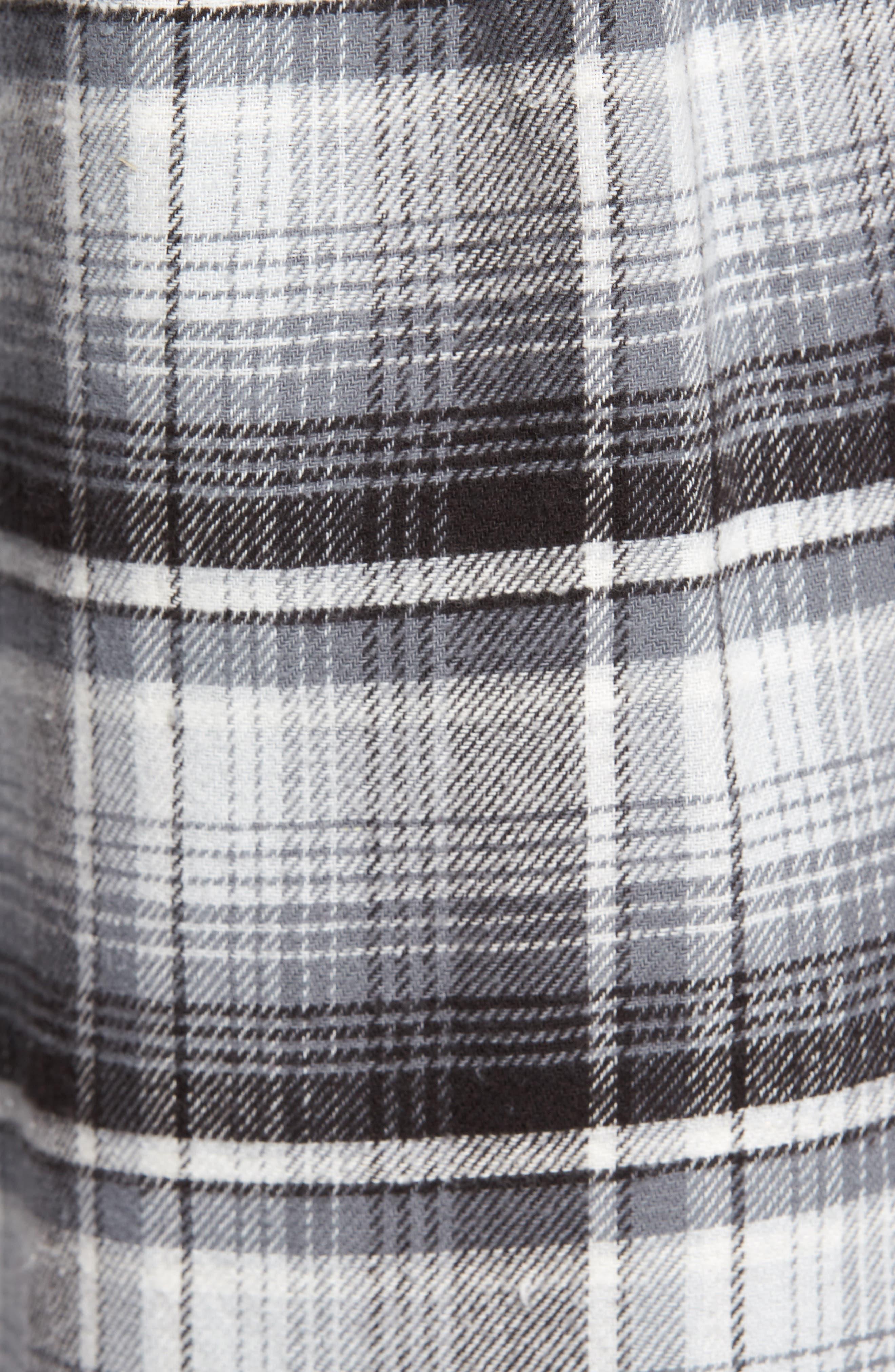 Butler Plaid Flannel Sport Shirt,                             Alternate thumbnail 13, color,