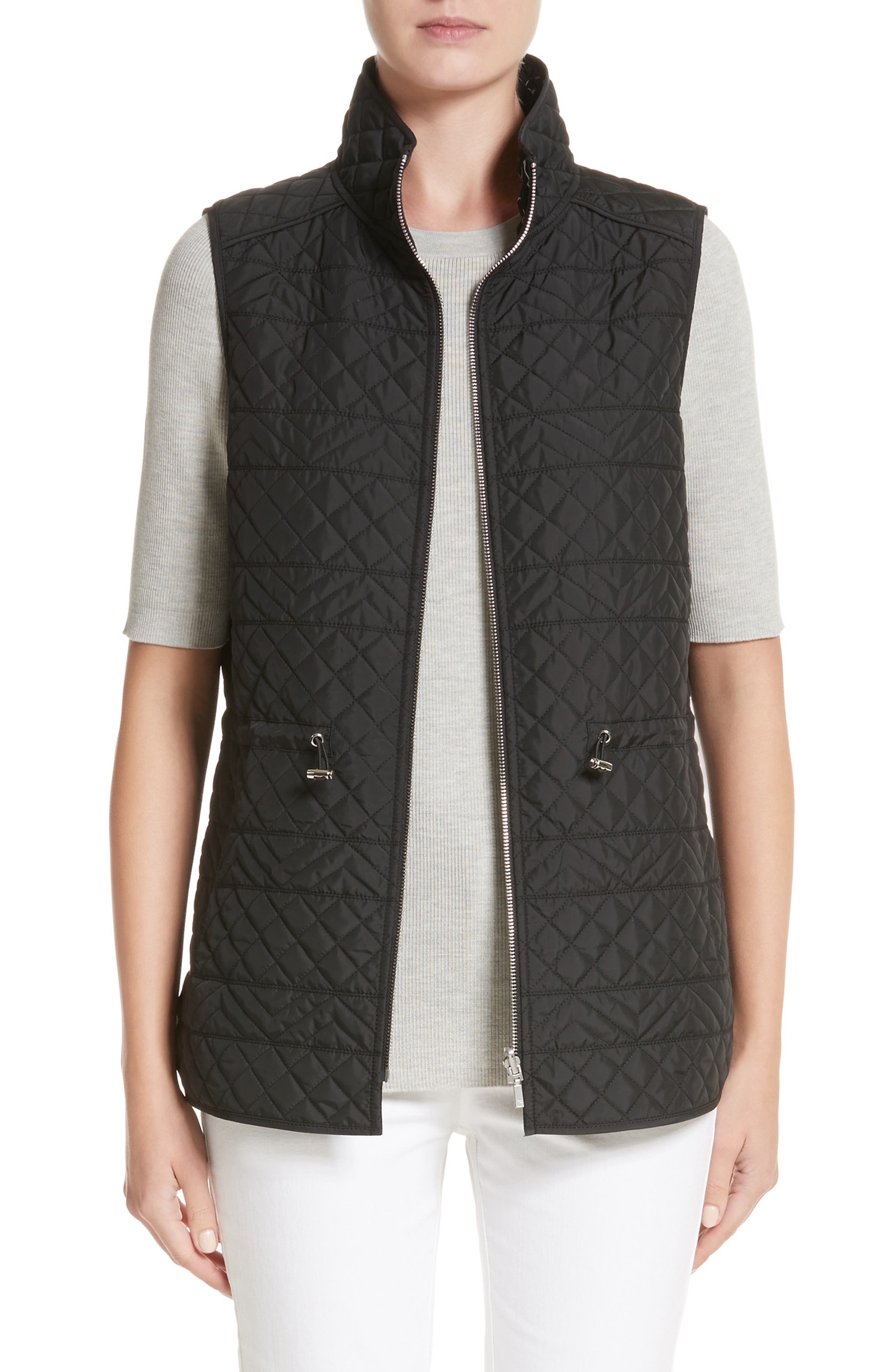 Ginny Reversible Vest,                             Main thumbnail 1, color,                             001