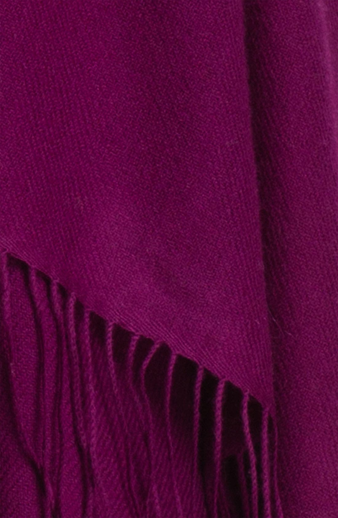 Tissue Weight Wool & Cashmere Wrap,                             Alternate thumbnail 200, color,