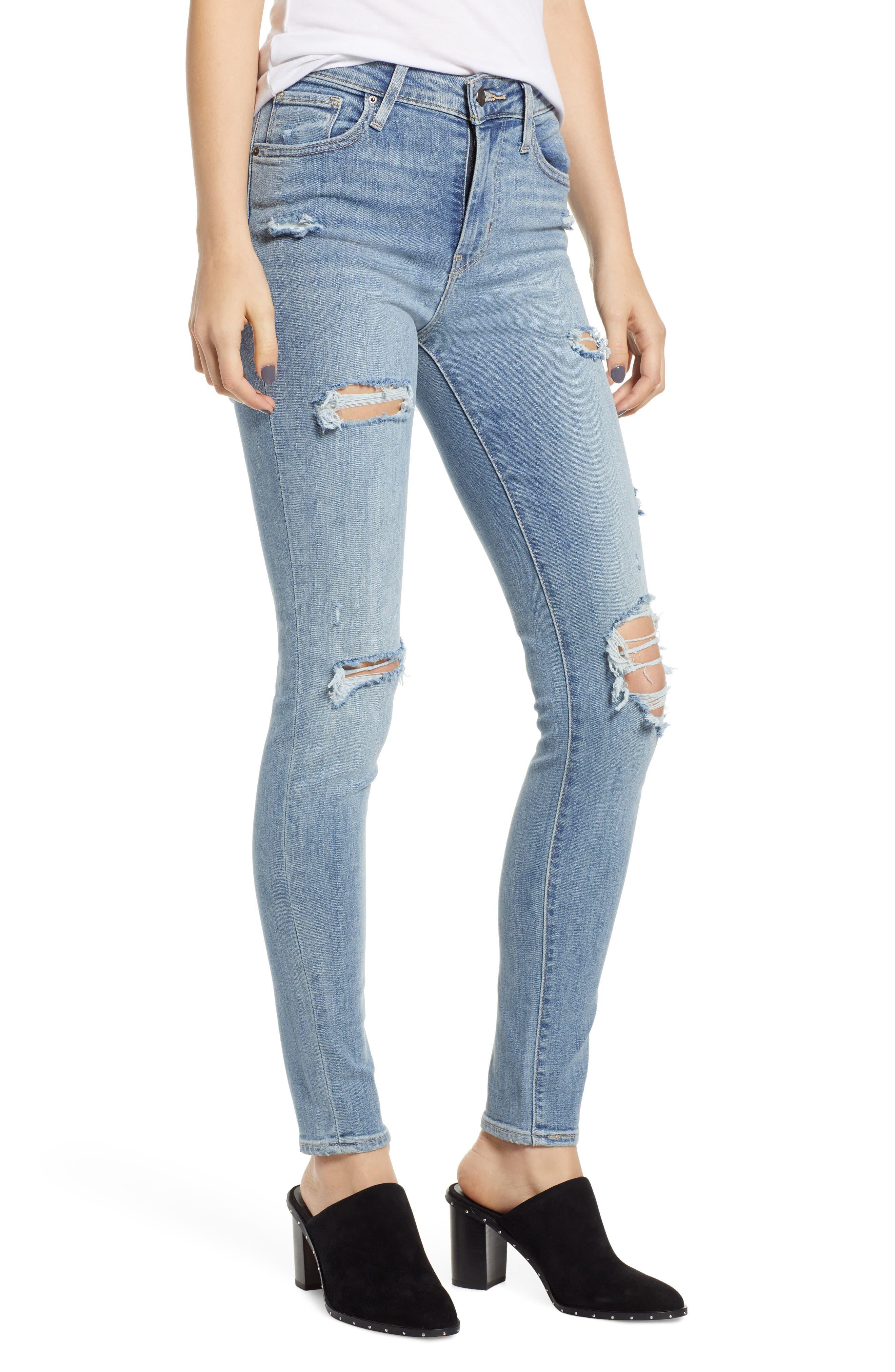 721<sup>™</sup> High Waist Skinny Jeans,                             Main thumbnail 1, color,                             SAY ANYTHING