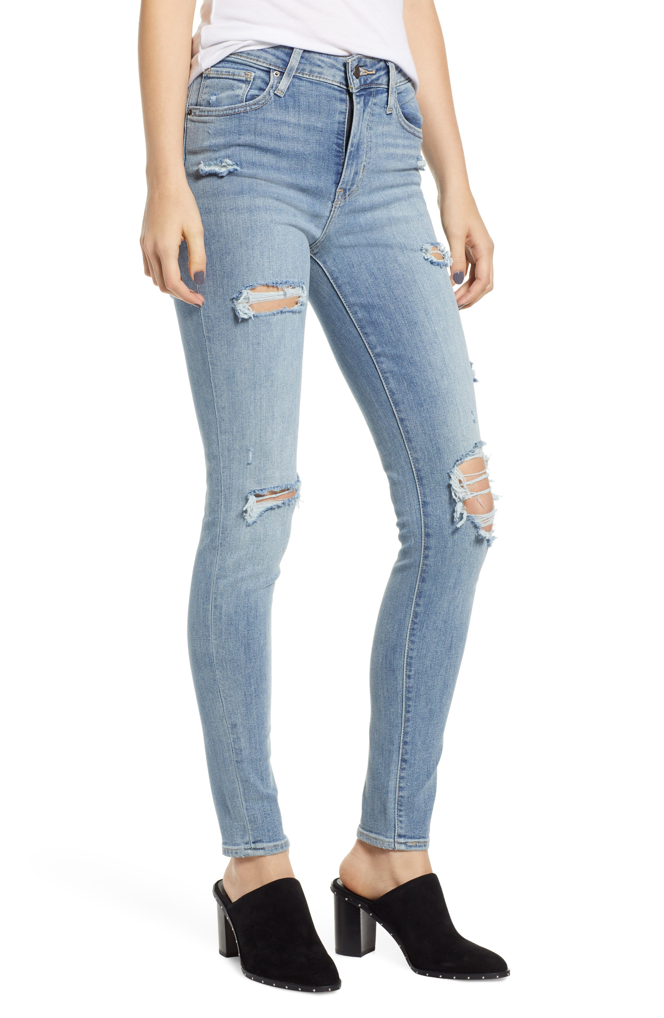 721<sup>™</sup> High Waist Skinny Jeans,                         Main,                         color, SAY ANYTHING
