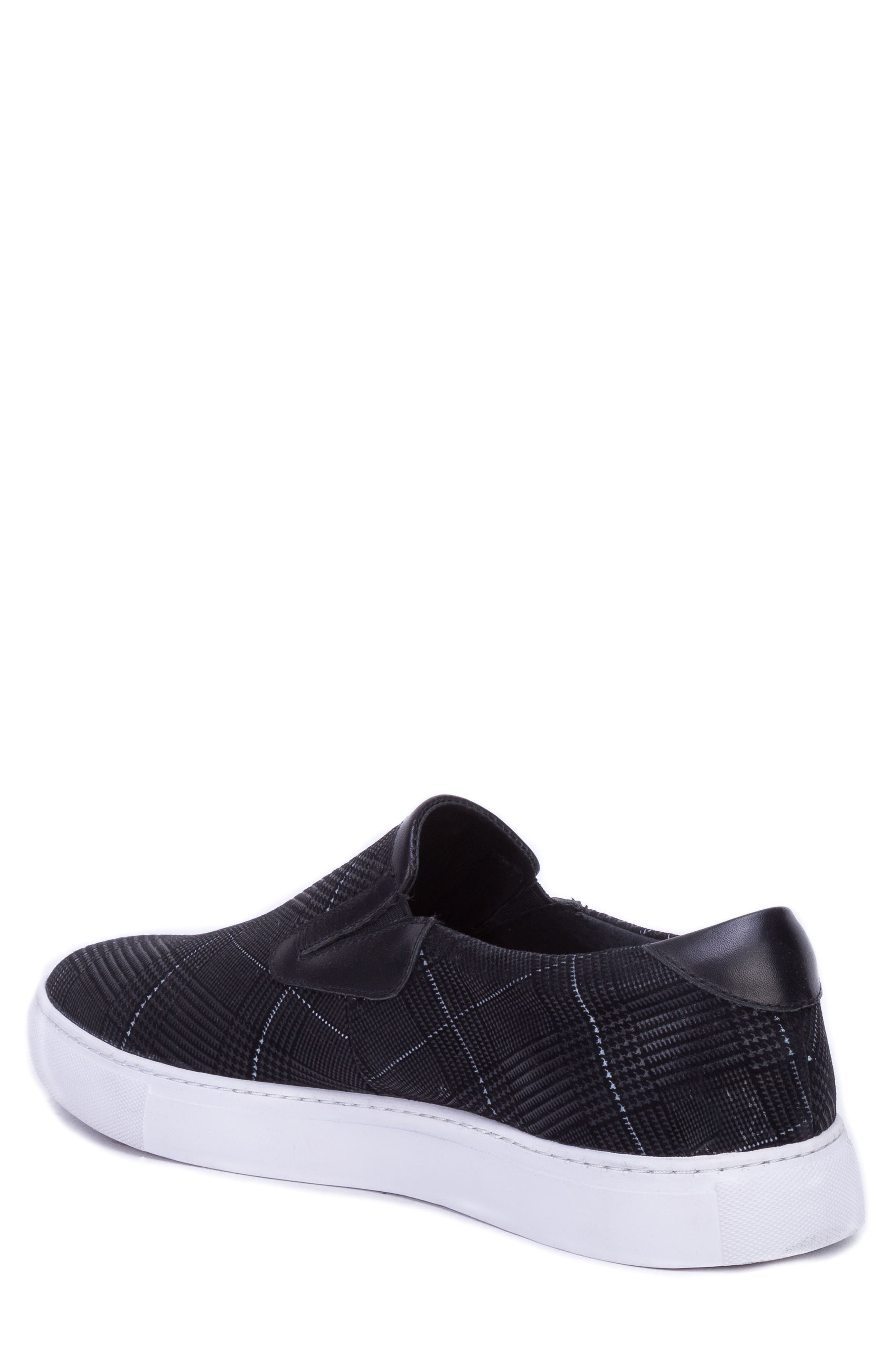 Kerby Slip-On Sneaker,                             Alternate thumbnail 2, color,                             BLACK SUEDE