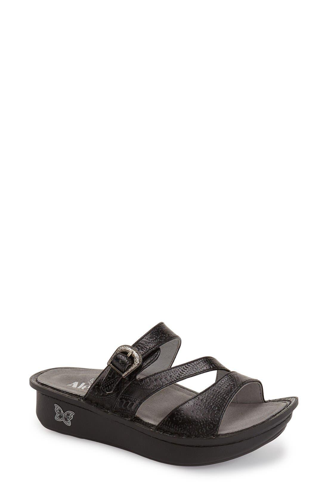 'Colette' Platform Sandal,                             Main thumbnail 4, color,
