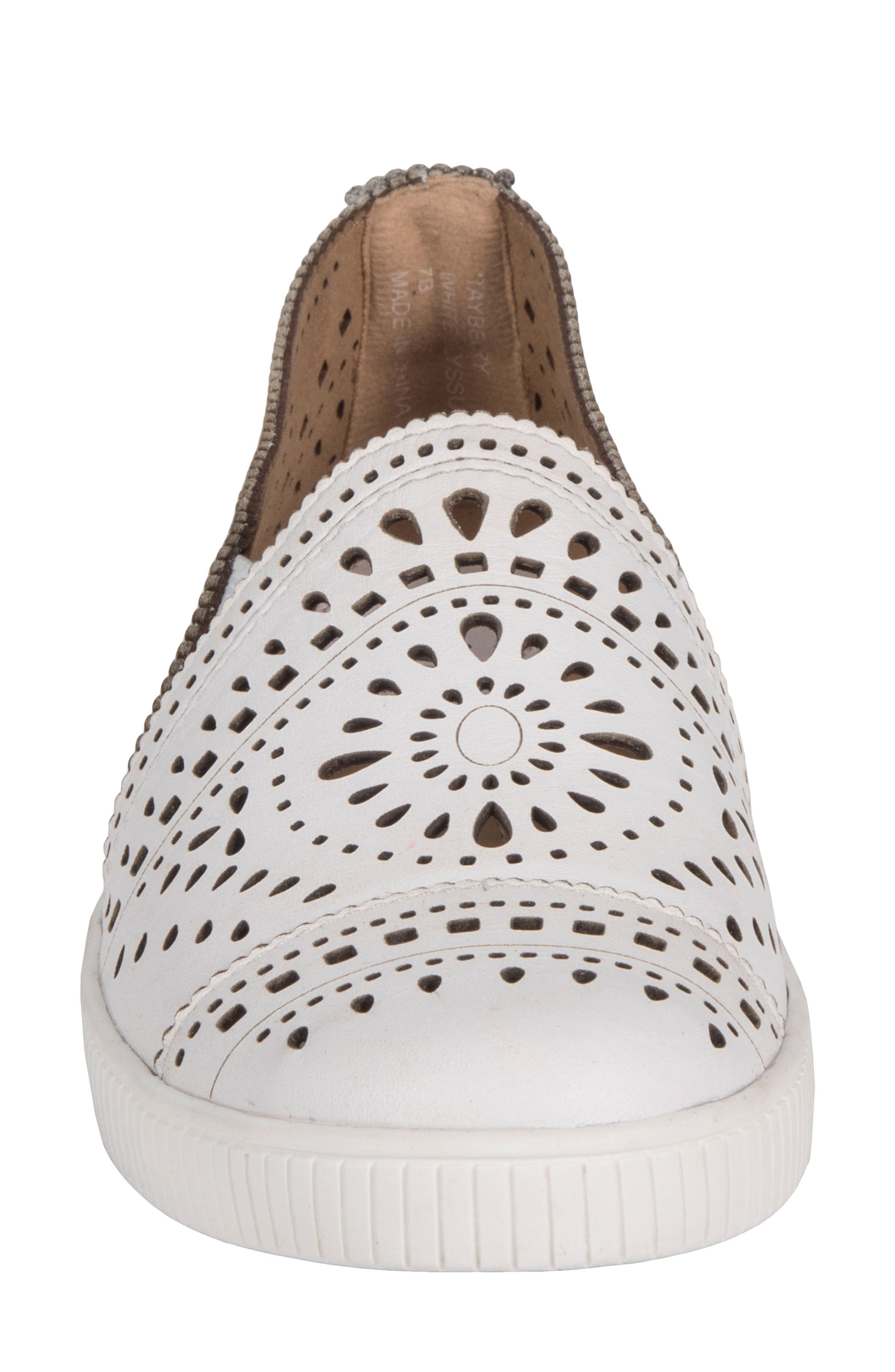 Tayberry Perforated Slip-On Sneaker,                             Alternate thumbnail 14, color,