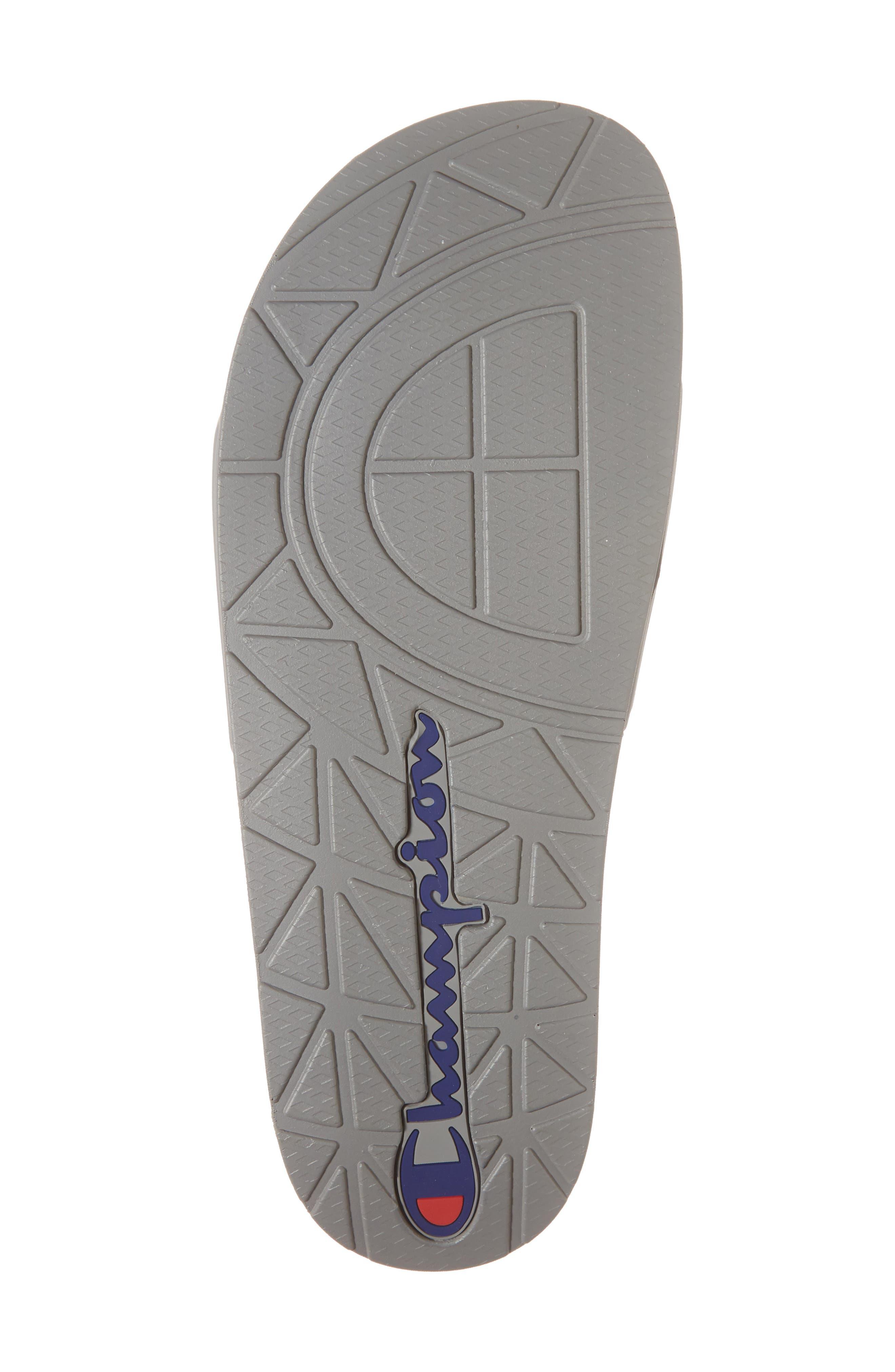 IPO Sports Slide Sandal,                             Alternate thumbnail 6, color,                             GREY