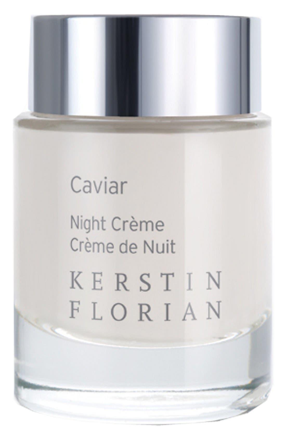 Caviar Night Crème,                             Main thumbnail 1, color,                             000