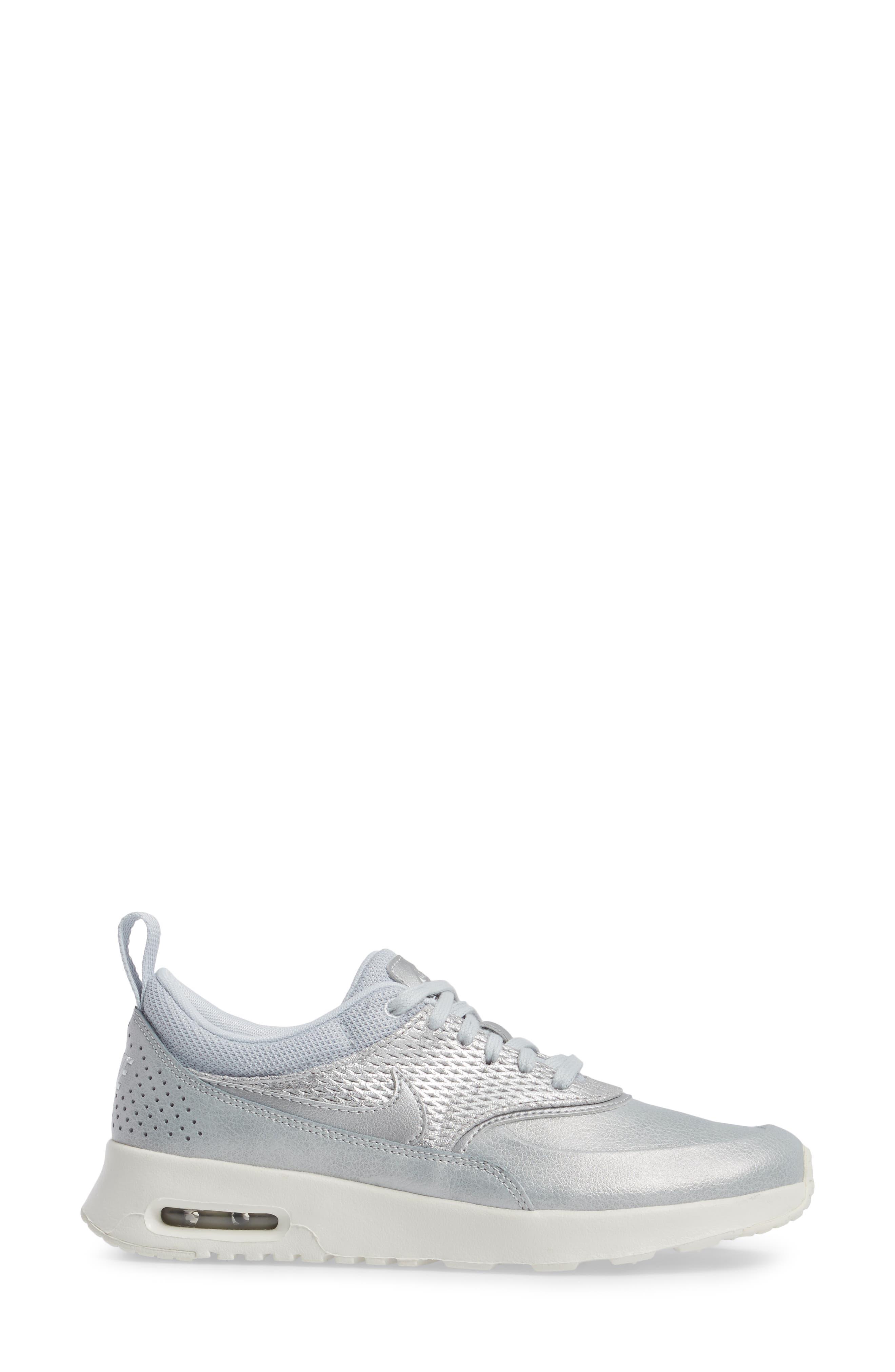 Air Max Thea Premium Sneaker,                             Alternate thumbnail 8, color,