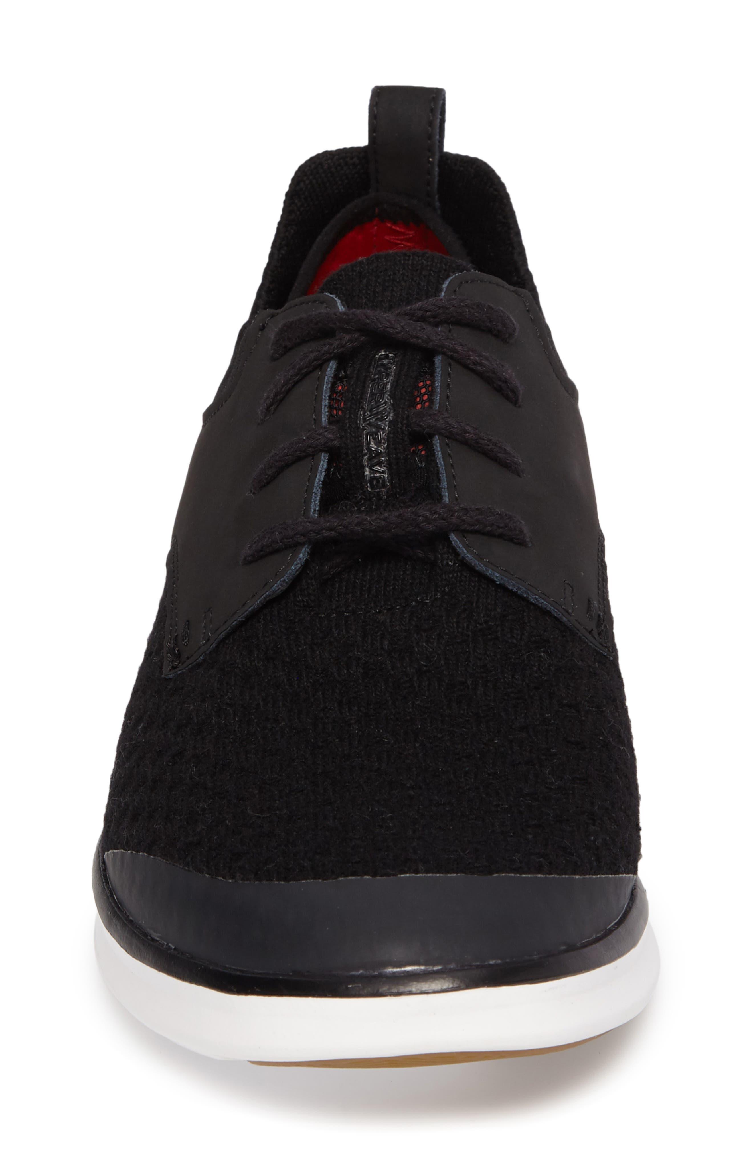 Hepner HyperWeave Sneaker,                             Alternate thumbnail 4, color,                             001