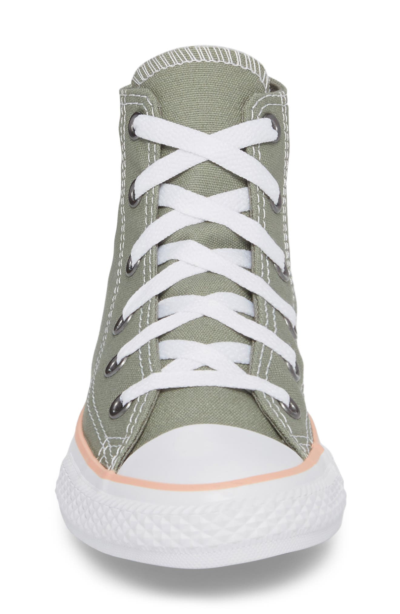 Chuck Taylor<sup>®</sup> All Star<sup>®</sup> High Top Sneaker,                             Alternate thumbnail 4, color,                             020