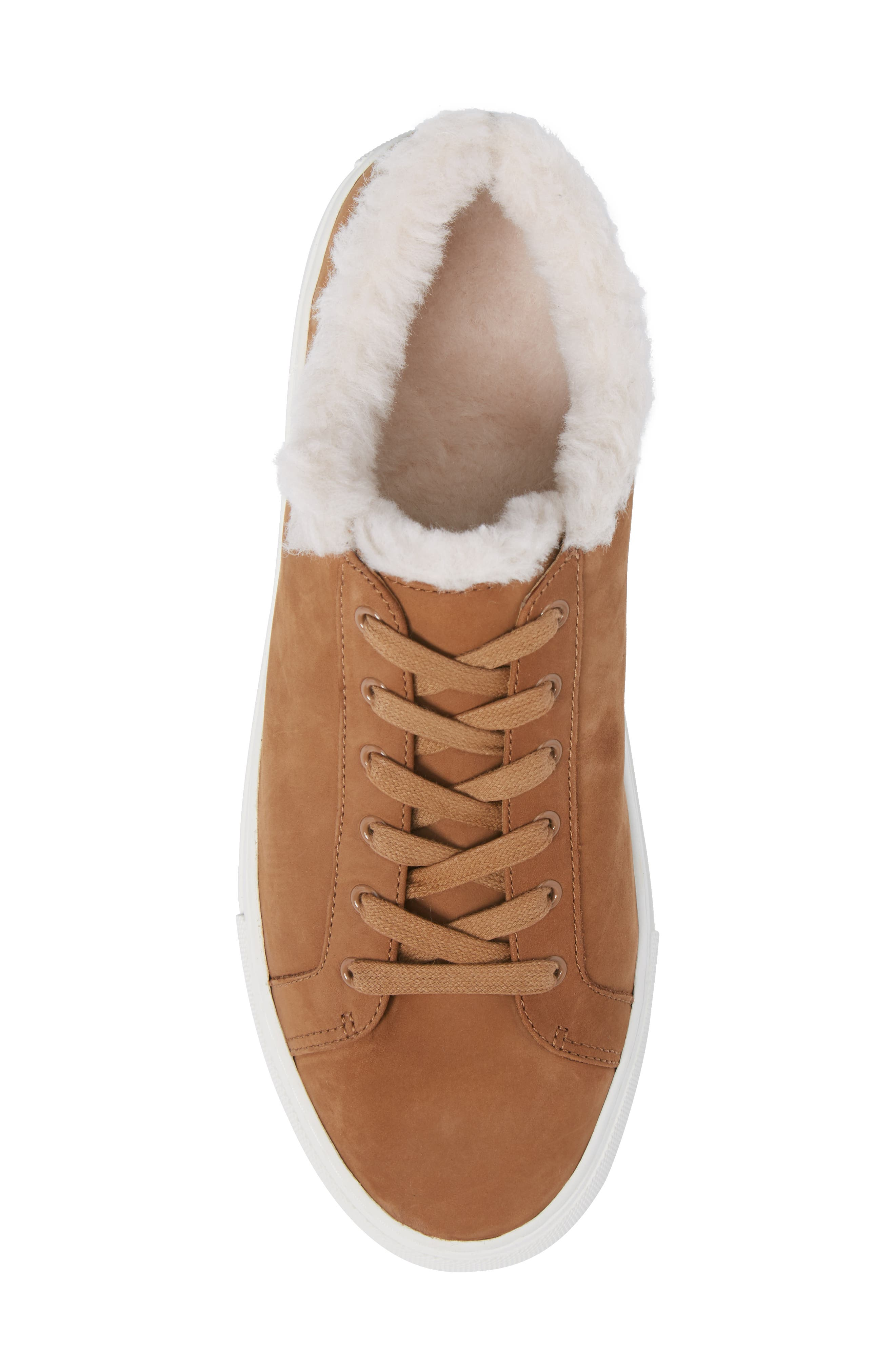 Lawrence Genuine Shearling Lined Sneaker,                             Alternate thumbnail 10, color,