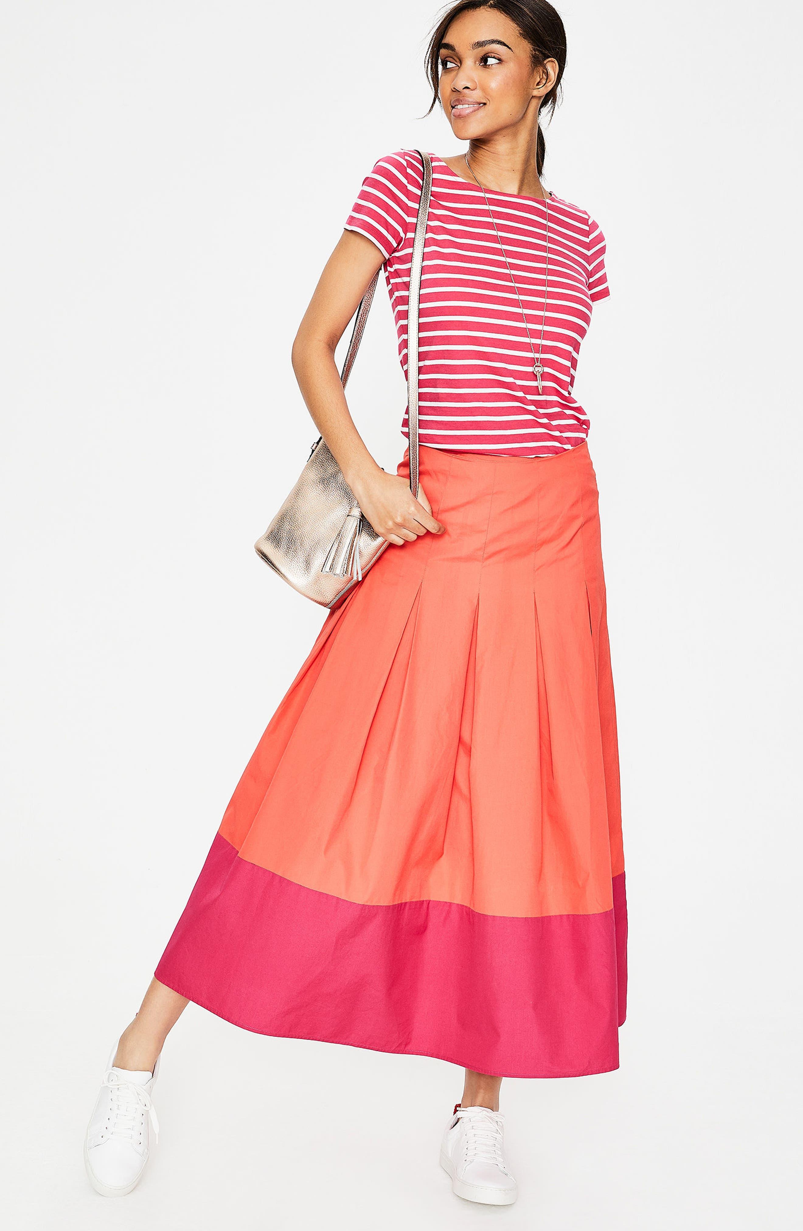 Breton Short Sleeve Stripe Cotton Top,                             Alternate thumbnail 23, color,