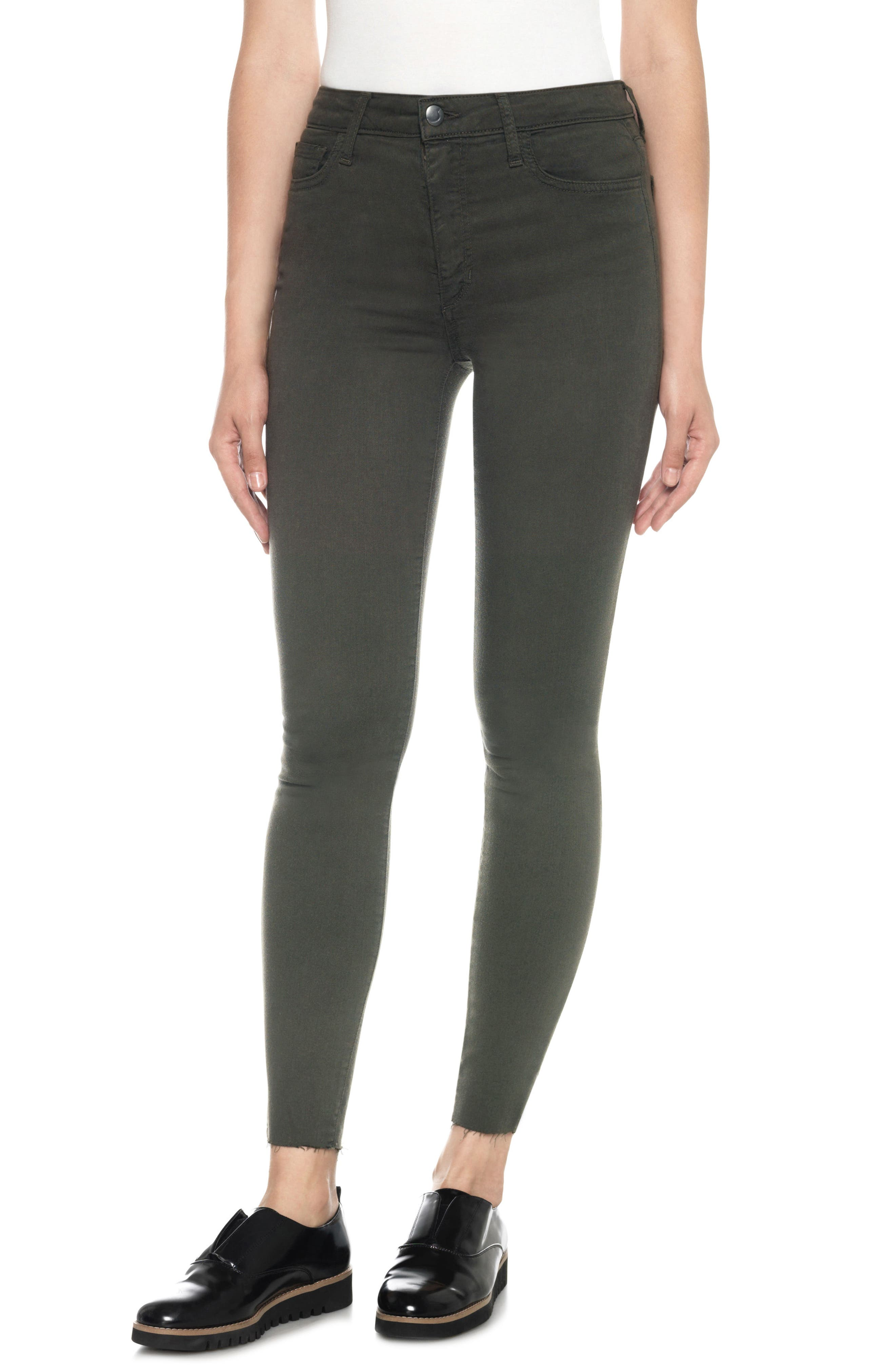 Charlie High Rise Ankle Skinny Jeans,                             Main thumbnail 1, color,                             341
