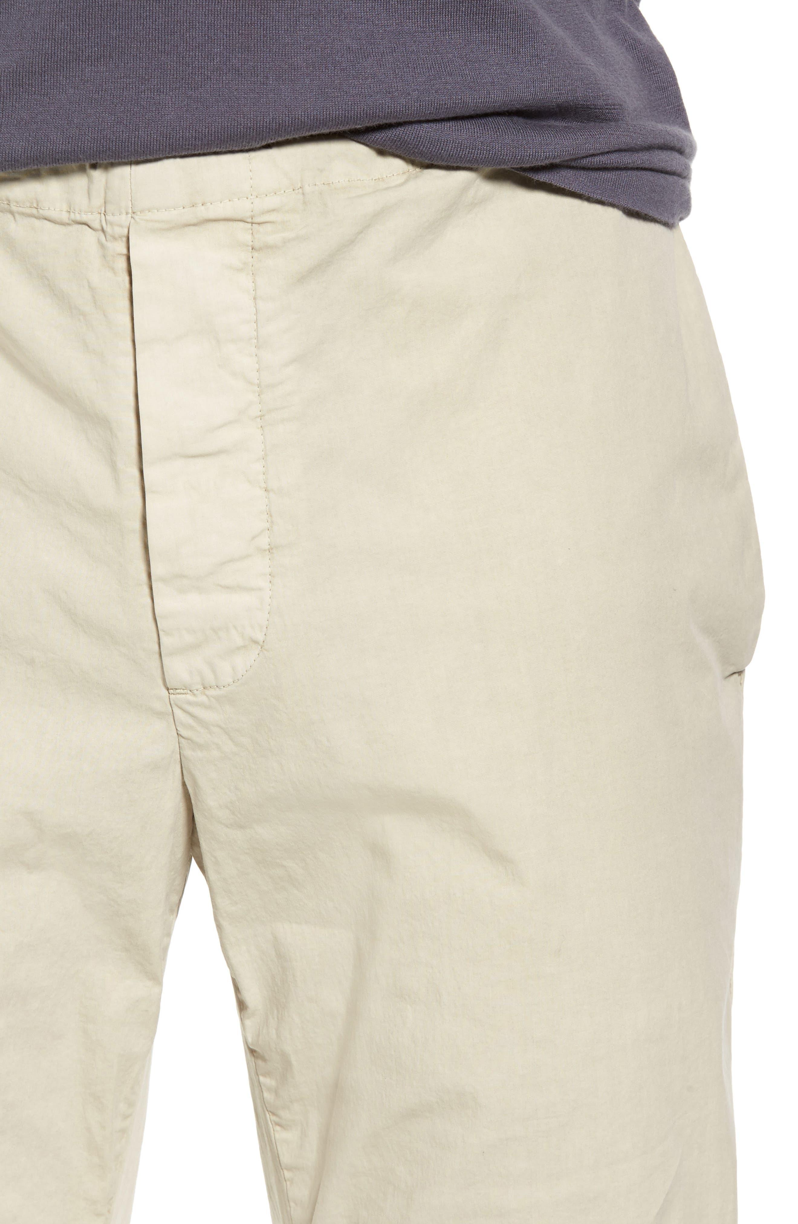 Slim Stretch Poplin Drawcord Pants,                             Alternate thumbnail 16, color,