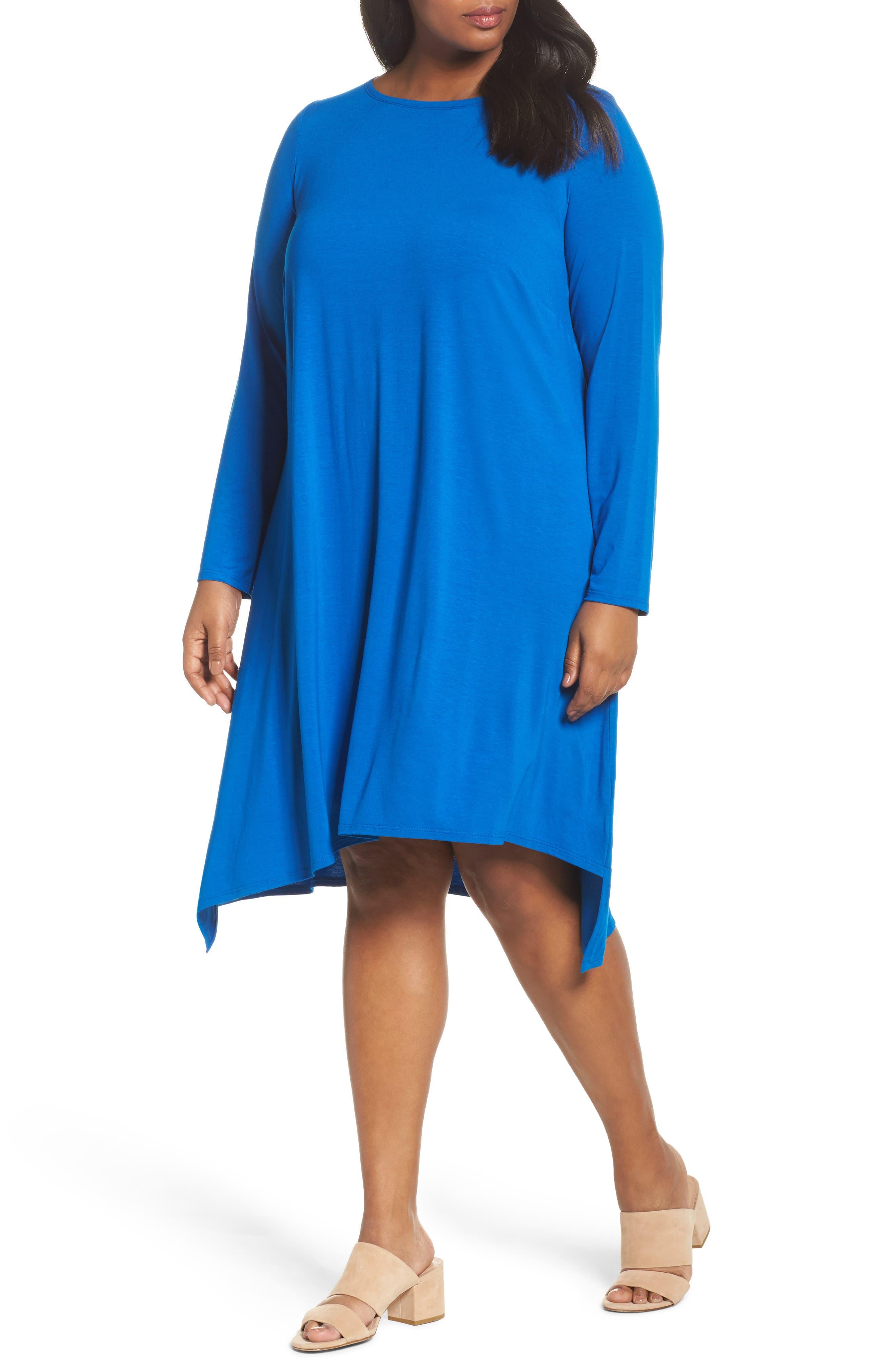 Jersey Tunic Dress,                             Main thumbnail 3, color,