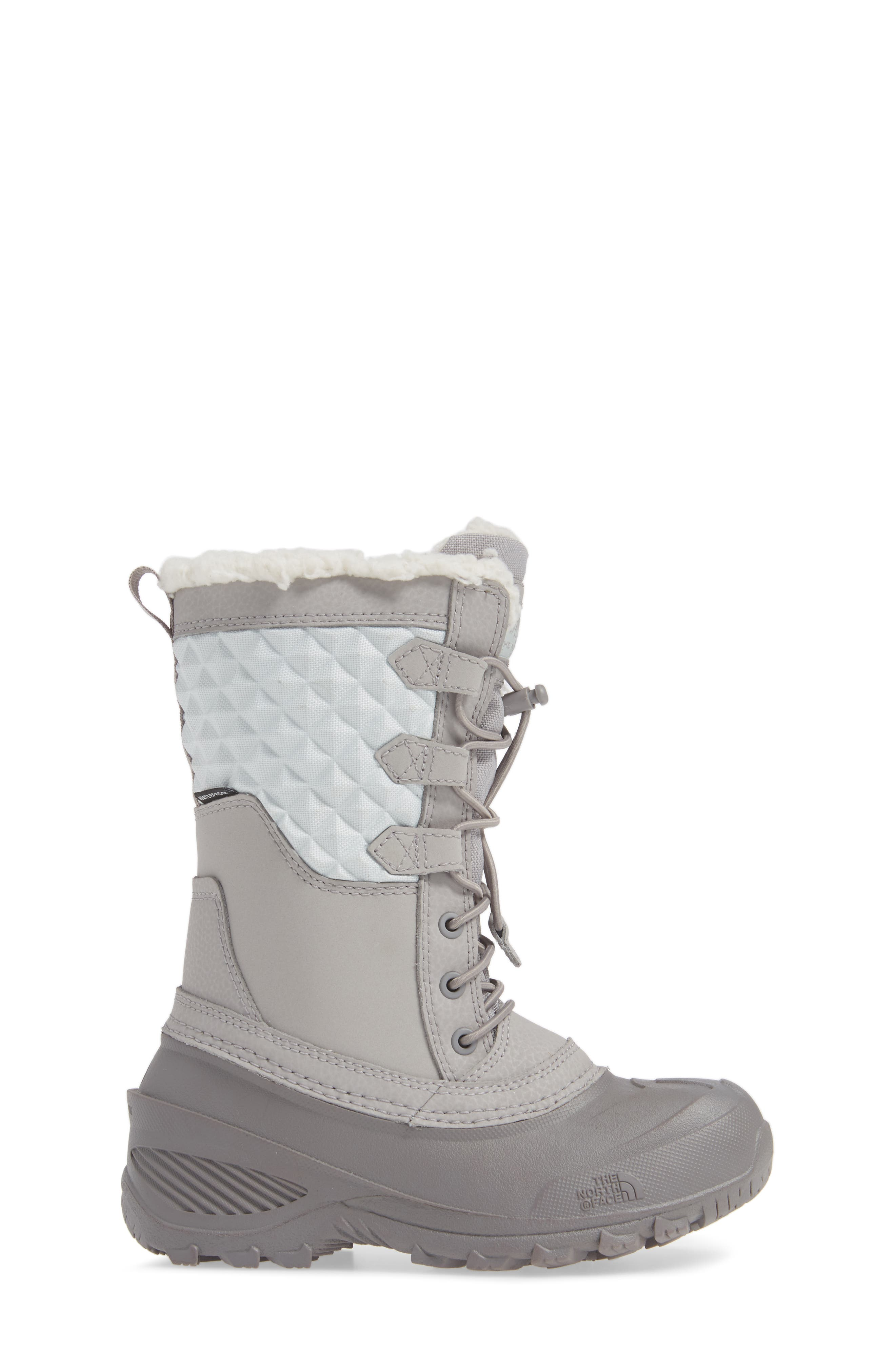 Shellista Lace III Faux Fur Waterproof Boot,                             Alternate thumbnail 3, color,                             030