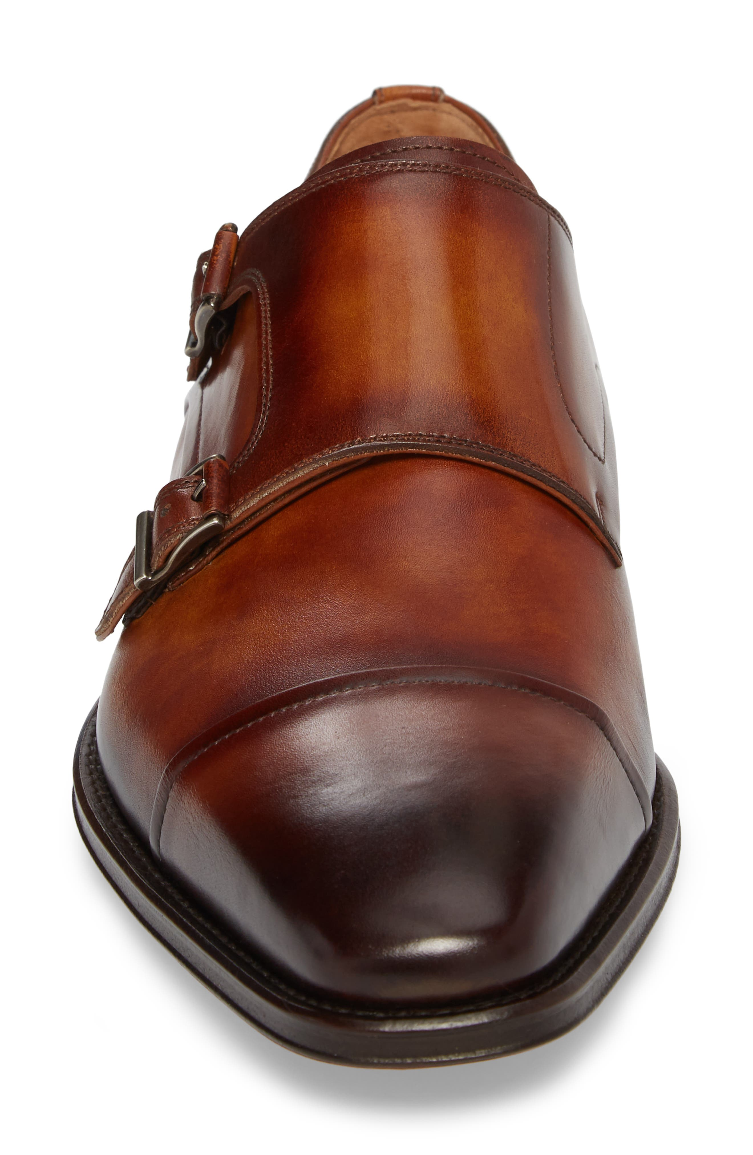 Silvio Double Monk Strap Shoe,                             Alternate thumbnail 4, color,                             230