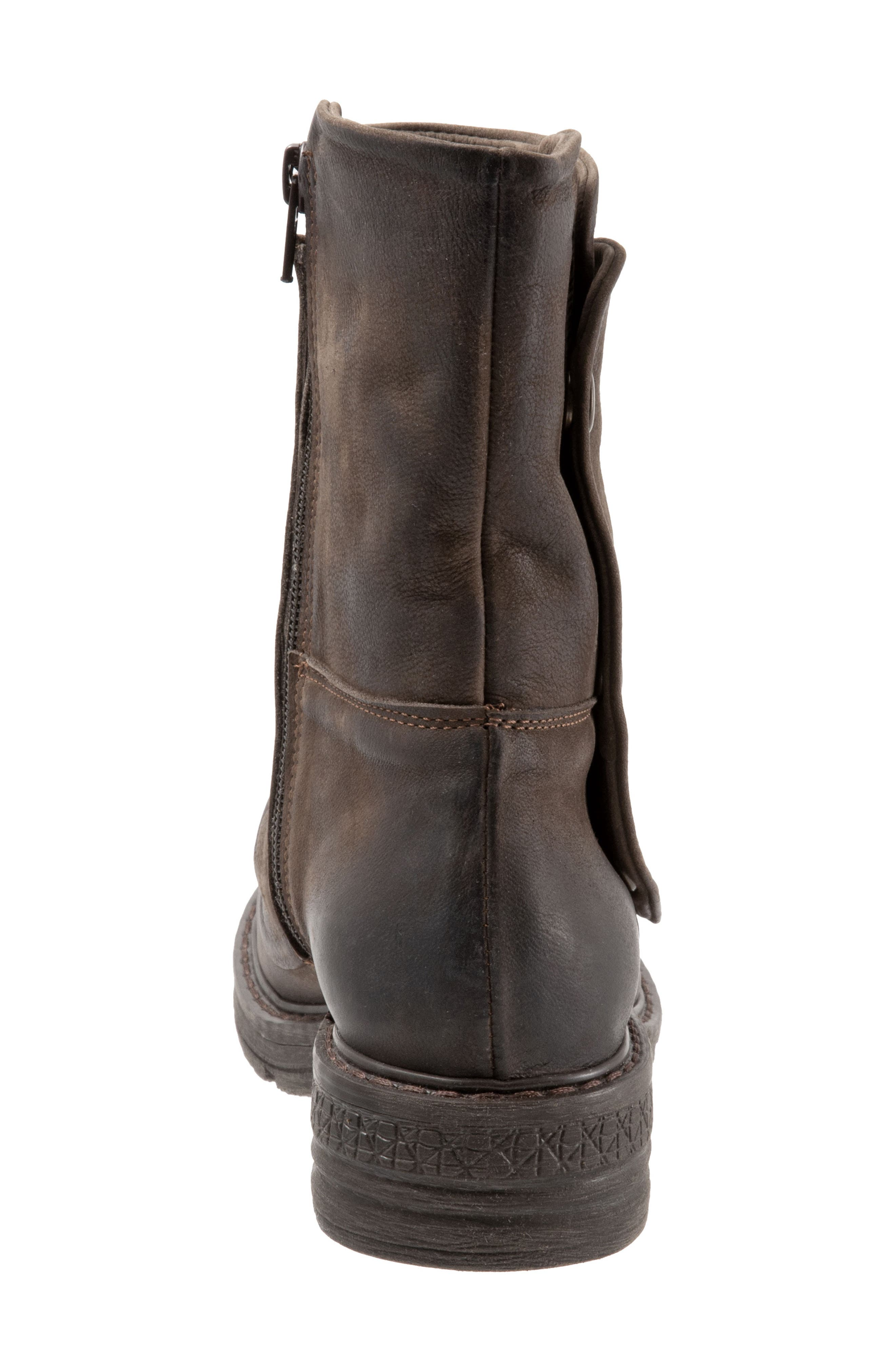 Greta Boot,                             Alternate thumbnail 7, color,                             BROWN NUBUCK