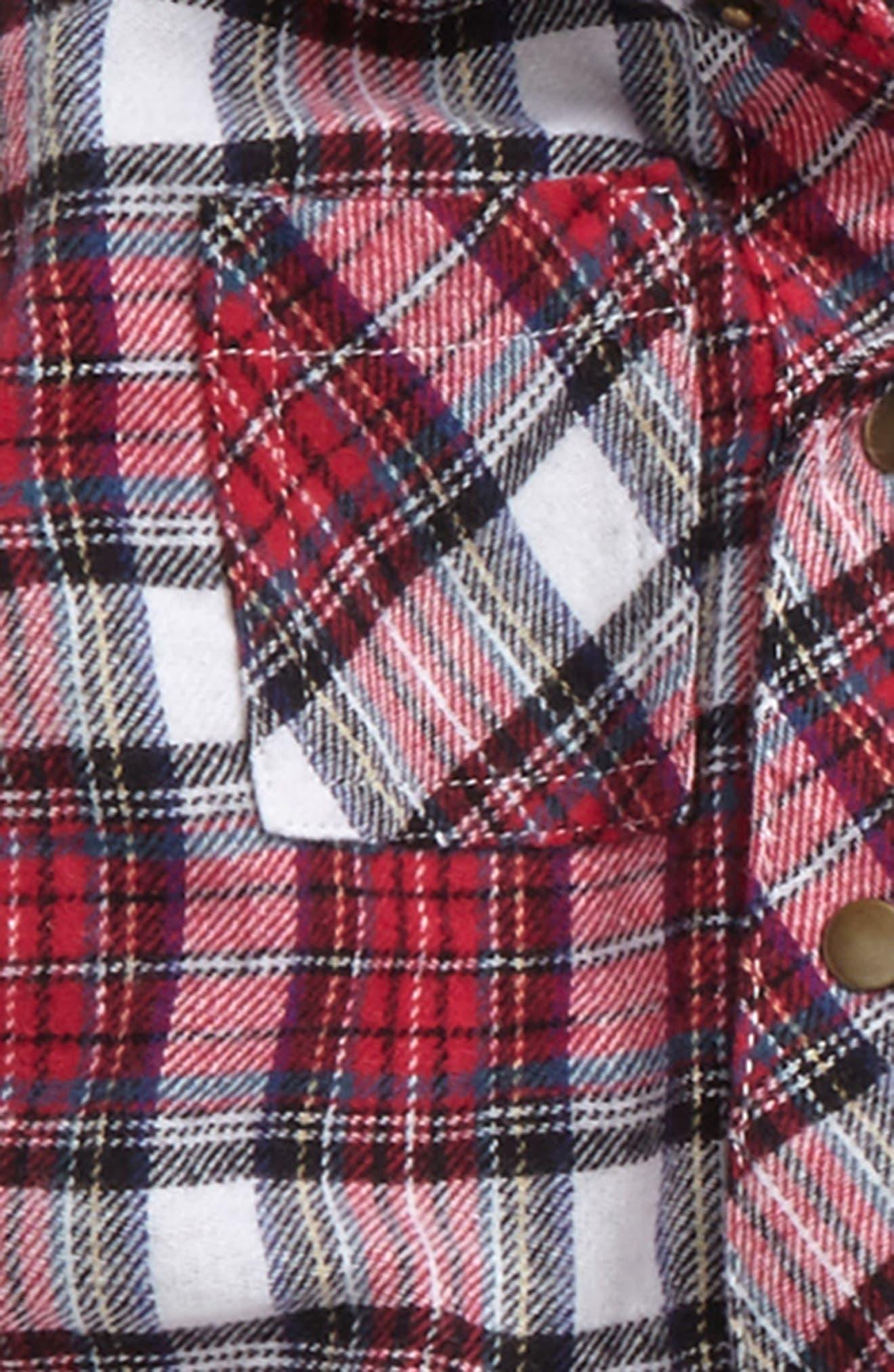 Hooded Jacket, Knit Top & Sweatpants Set,                             Alternate thumbnail 3, color,                             600
