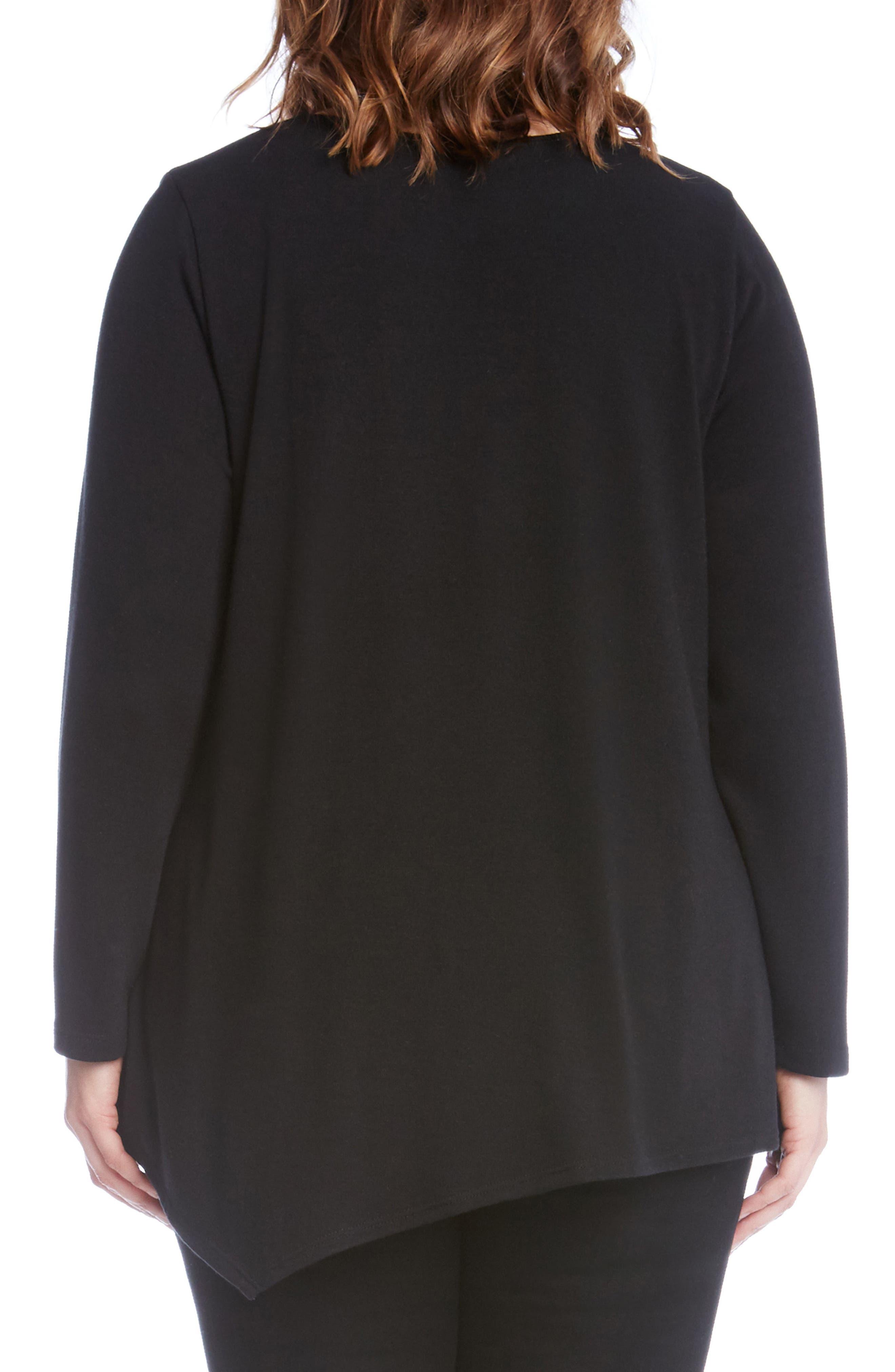 Asymmetrical Hem Sweater,                             Alternate thumbnail 3, color,