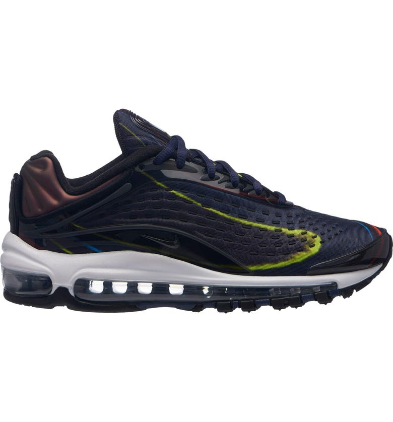 quality design e386f 02453 NIKE Air Max Deluxe Sneaker, Main, color, BLACK BLACK-MIDNIGHT NAVY