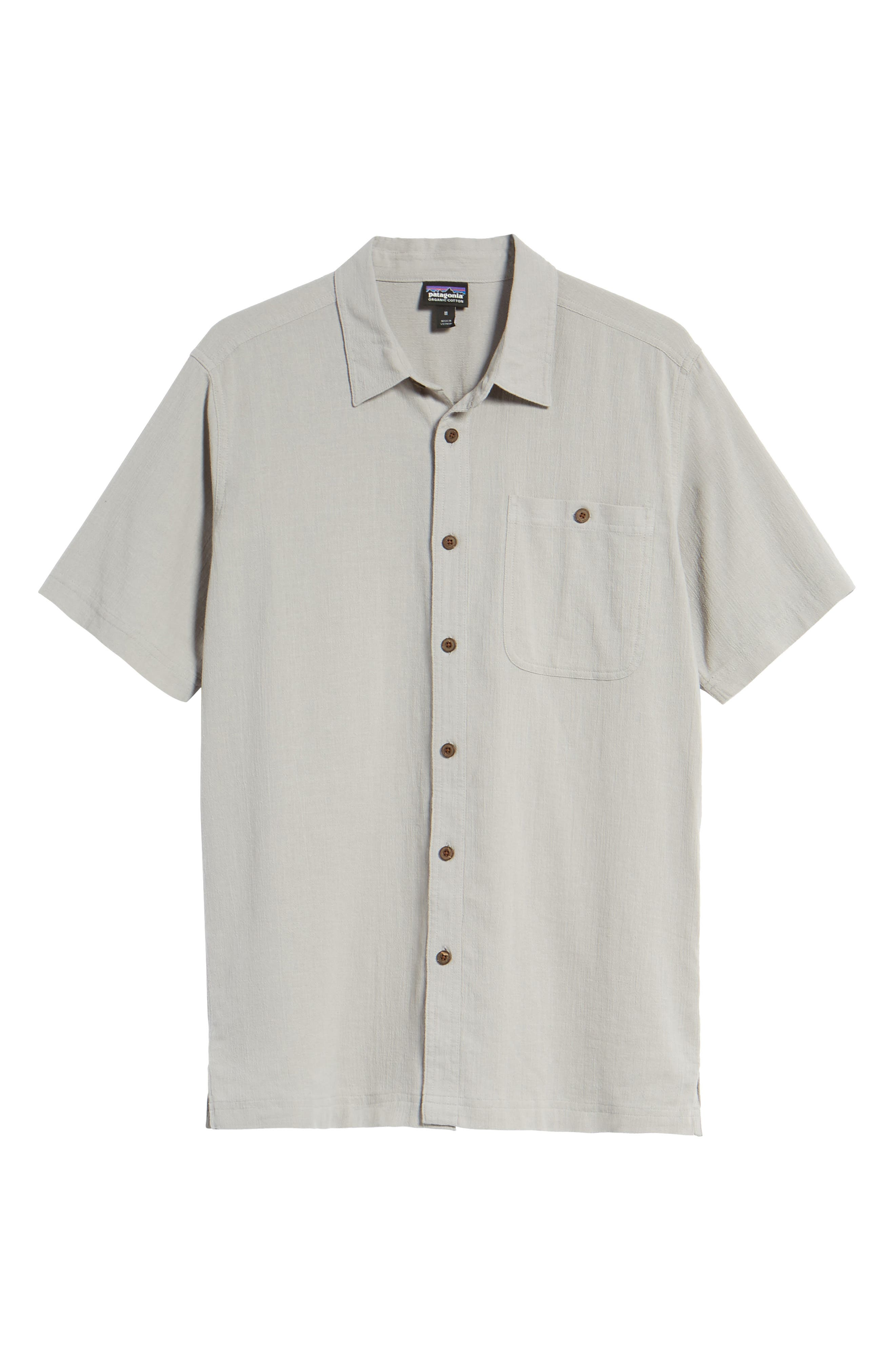 'A/C<sup>®</sup>' Regular Fit Organic Cotton Short Sleeve Sport Shirt,                             Alternate thumbnail 6, color,                             022