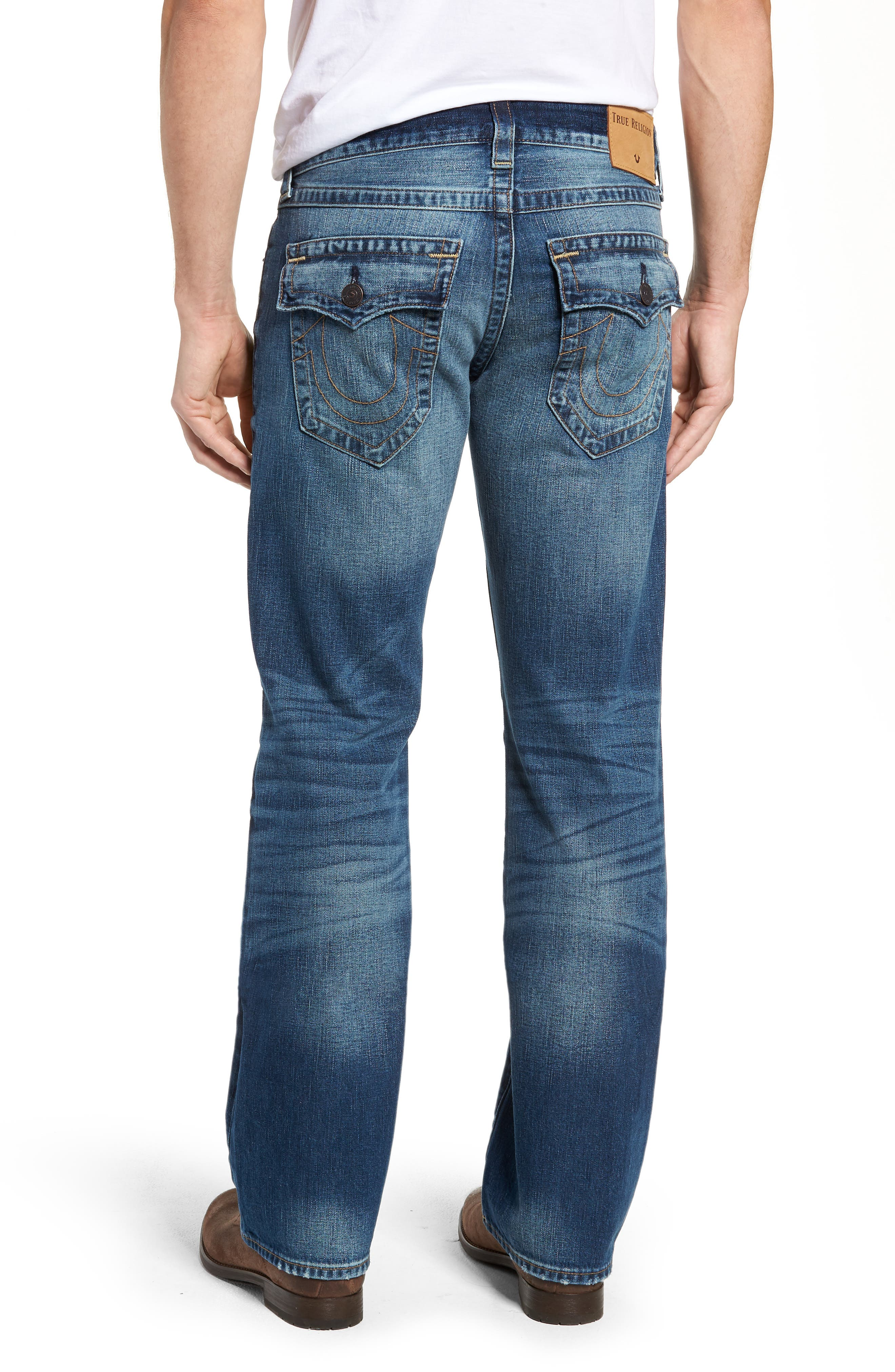 Billy Bootcut Jeans,                             Alternate thumbnail 2, color,                             BLUE REBEL