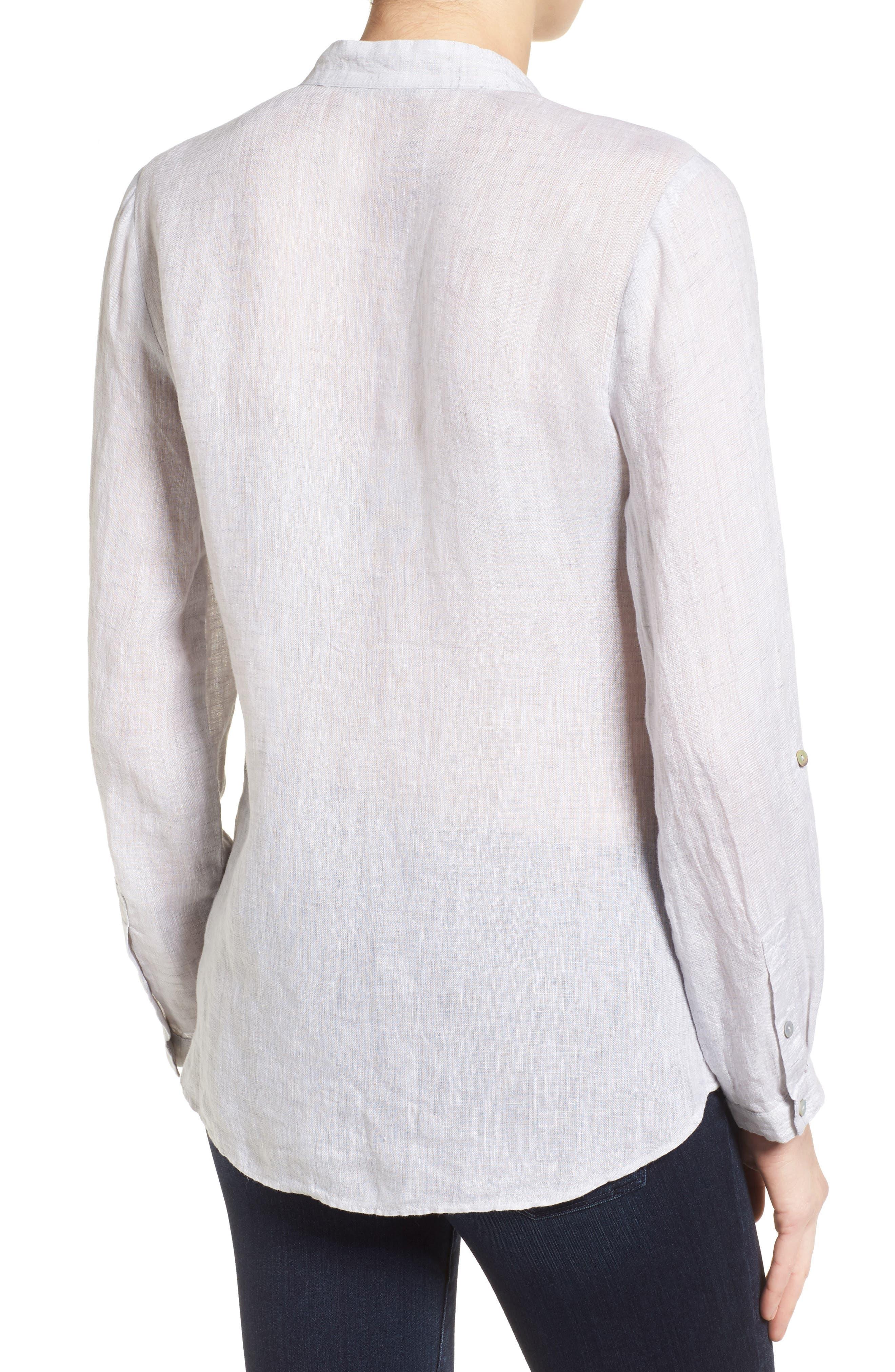 Drifty Linen Shirt,                             Alternate thumbnail 2, color,                             030