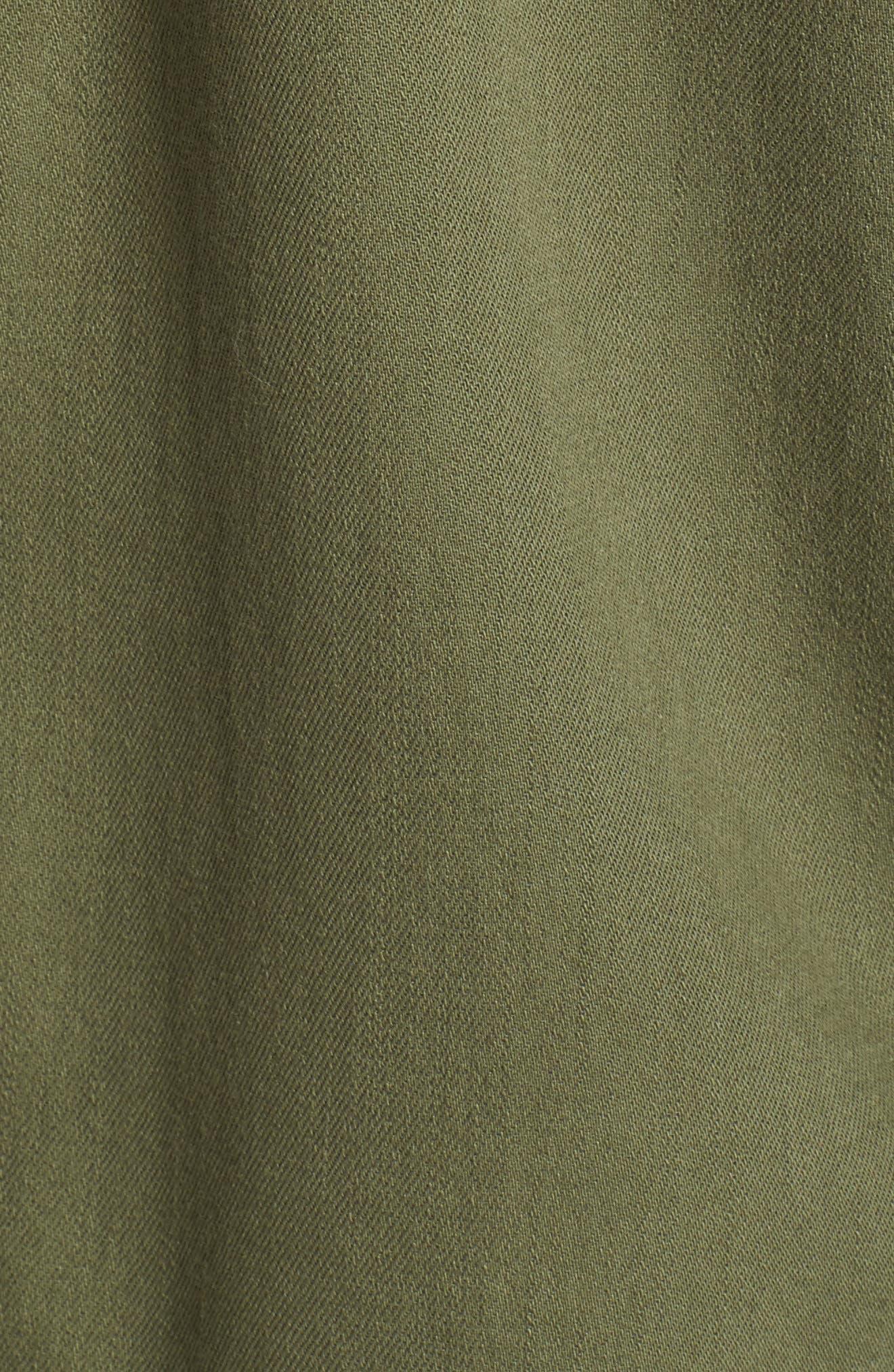 Vintage Army Sport Shirt,                             Alternate thumbnail 10, color,