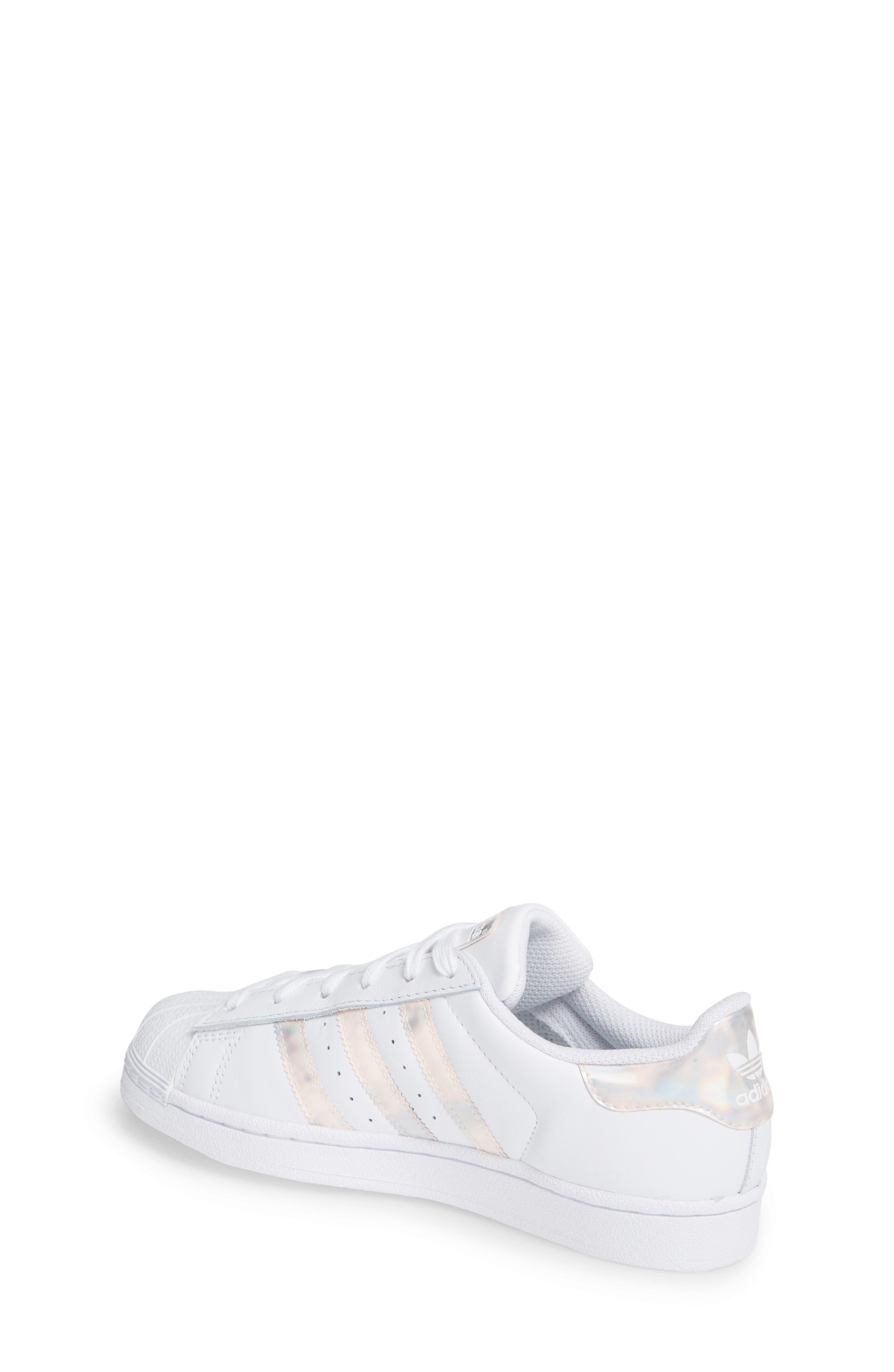 'Superstar II' Sneaker,                             Alternate thumbnail 2, color,                             FTWR WHITE