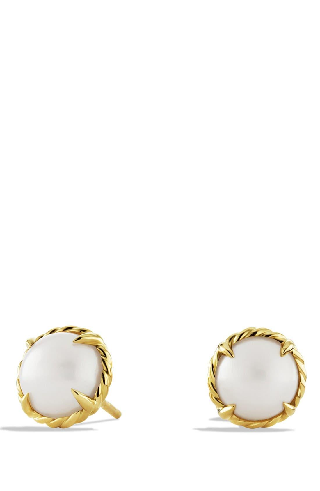 'Châtelaine' Earrings,                         Main,                         color, PEARL
