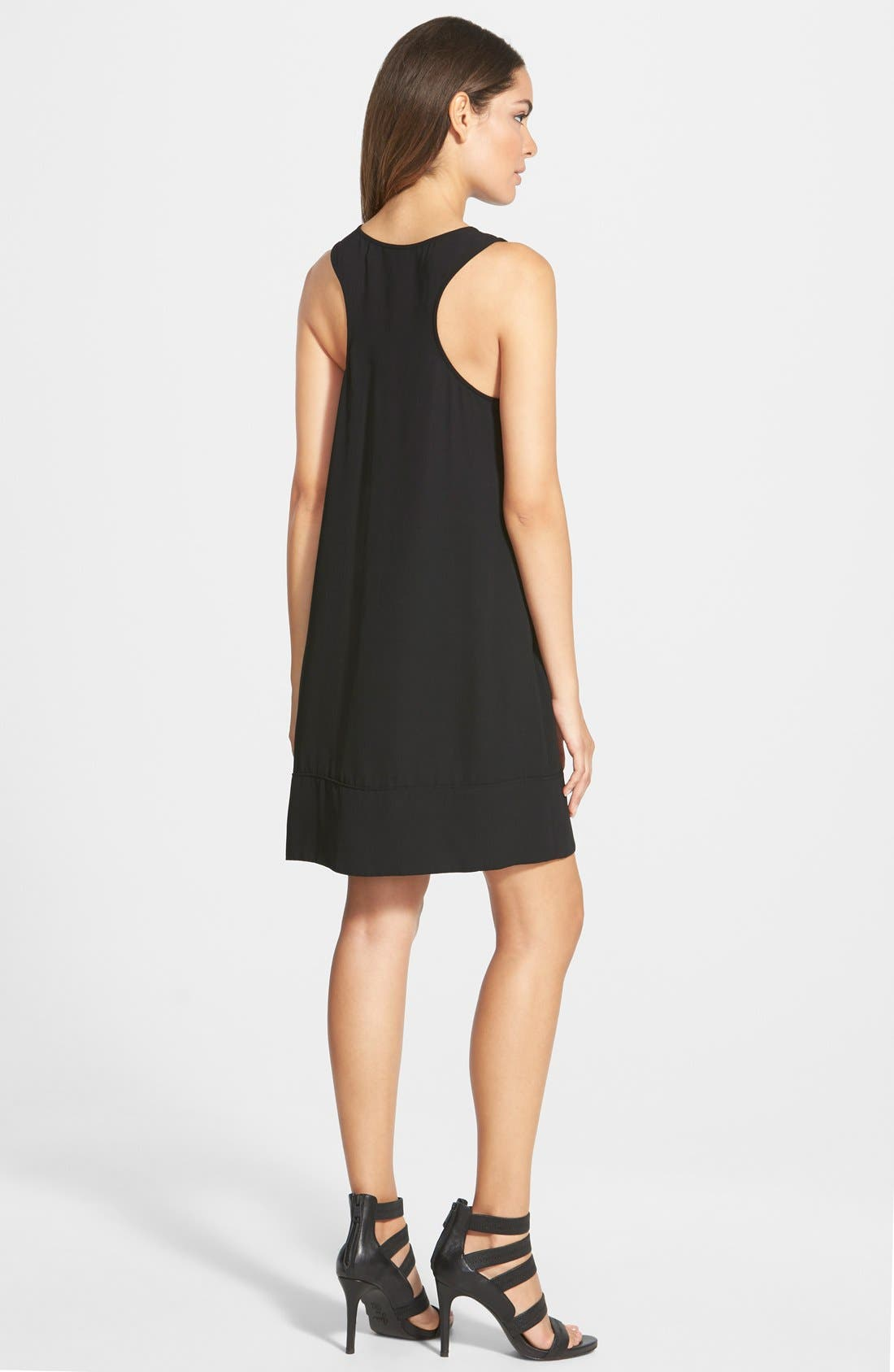 Racerback Shift Dress,                             Alternate thumbnail 108, color,