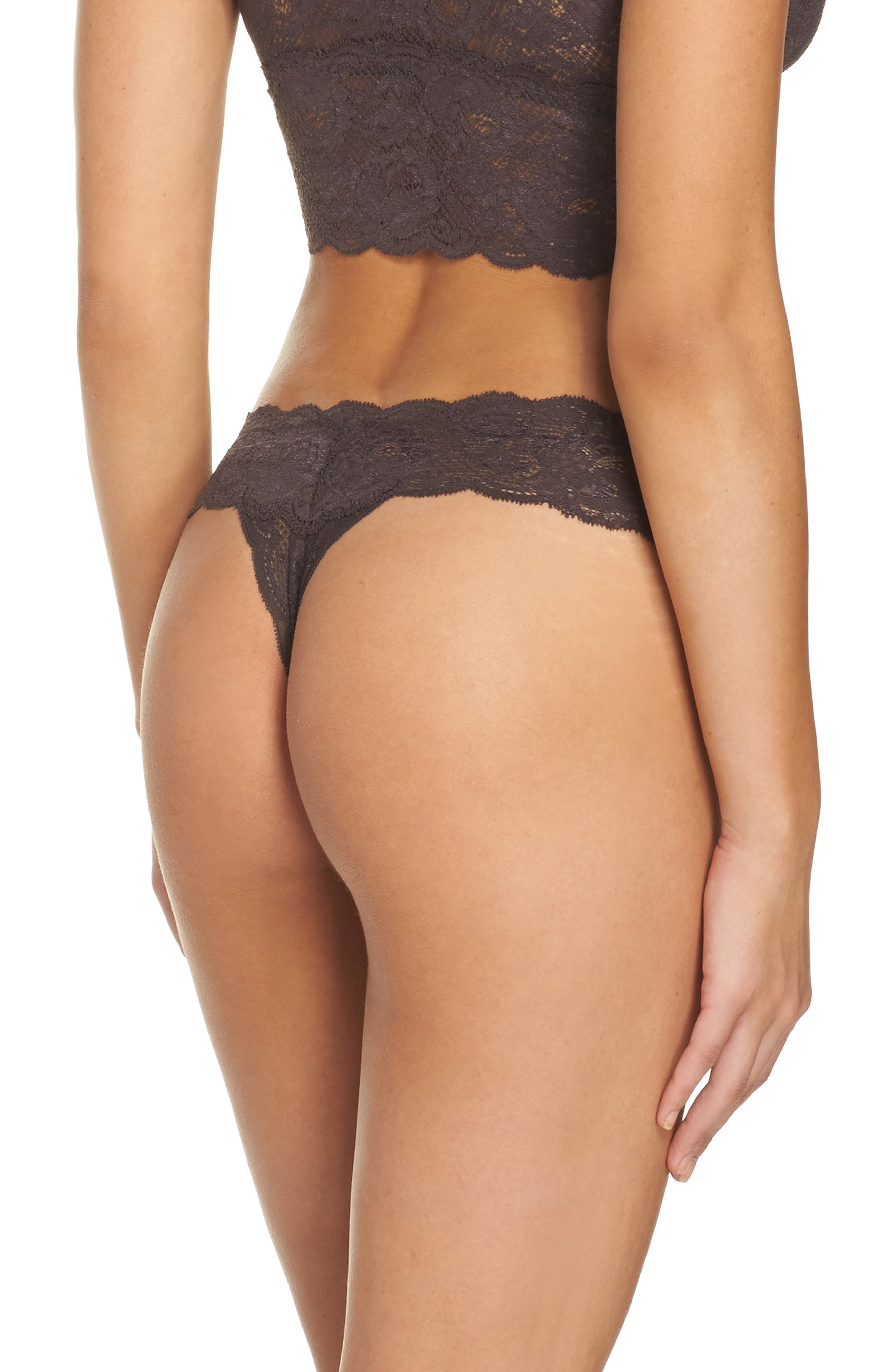 'Never Say Never Cutie' Thong,                             Alternate thumbnail 182, color,