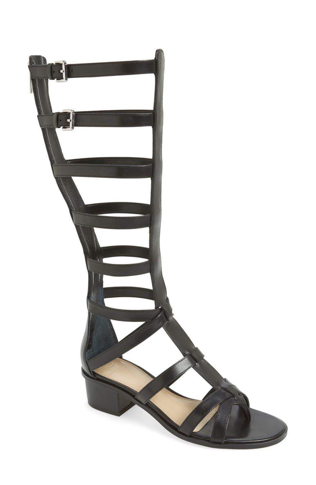 'Fair' Gladiator Sandal,                         Main,                         color, 001