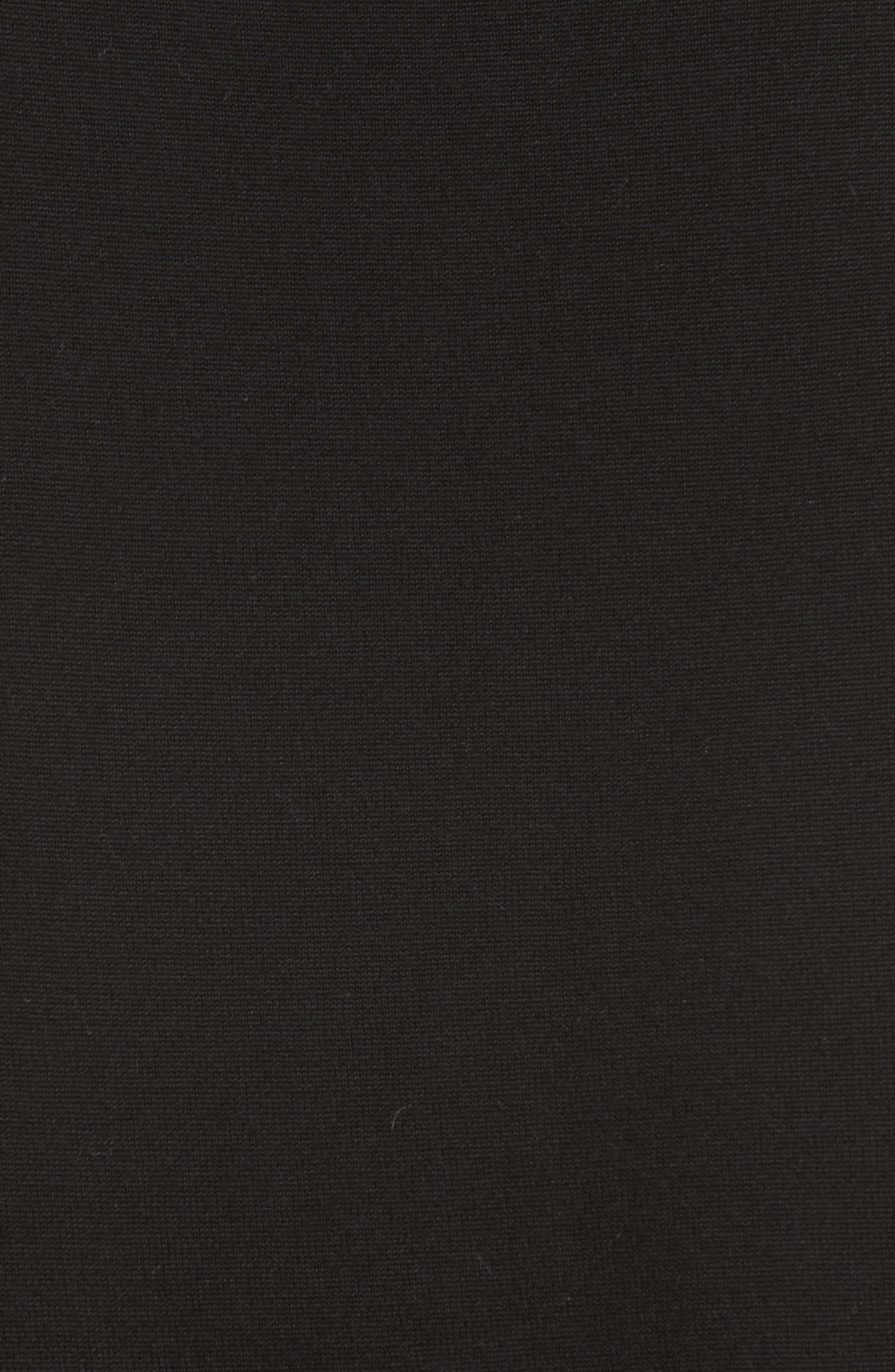 Jules Chain Stripe Silk Tank,                             Alternate thumbnail 5, color,                             001