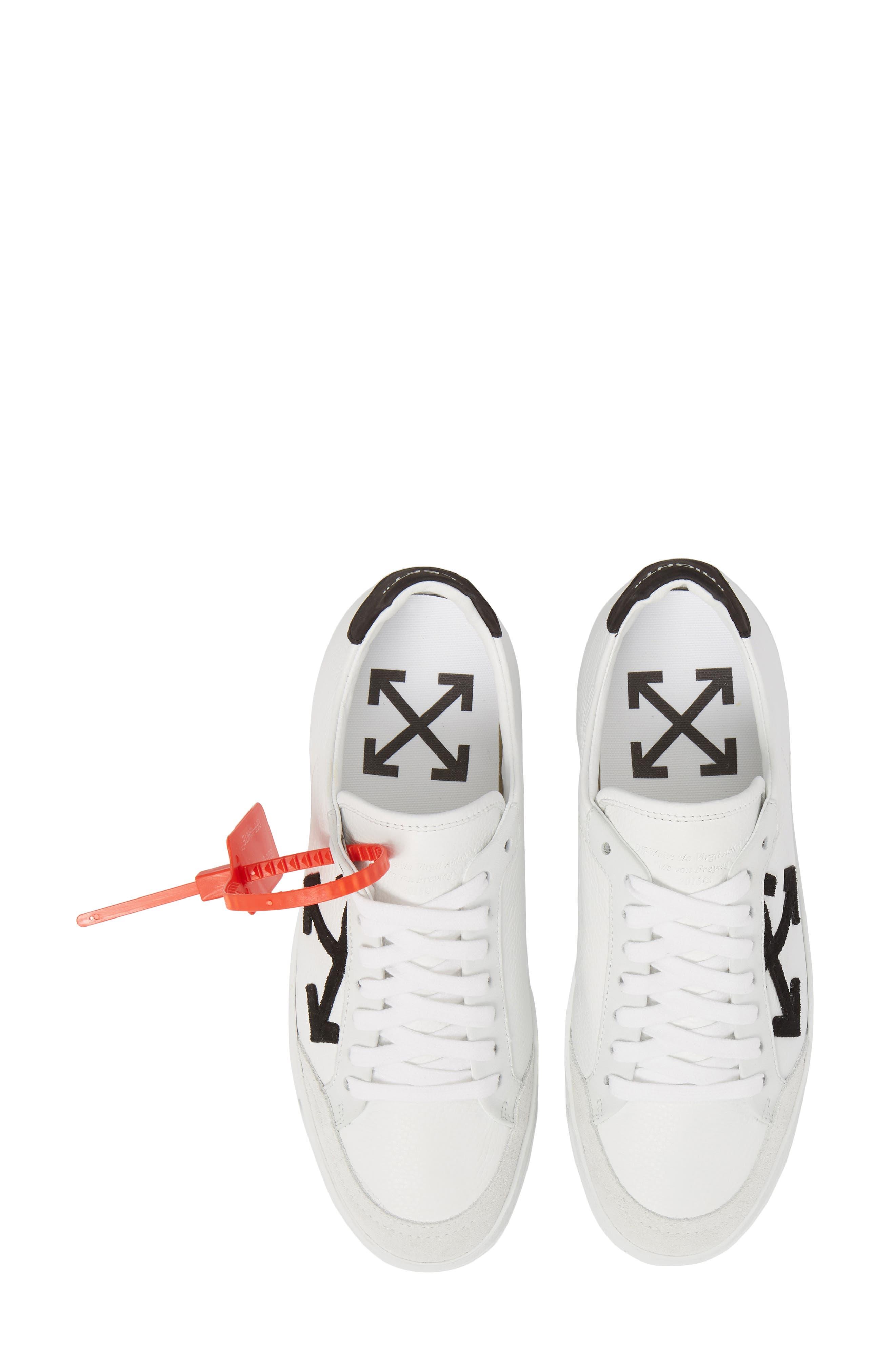 Arrow Sneaker,                             Main thumbnail 1, color,                             WHITE BLACK