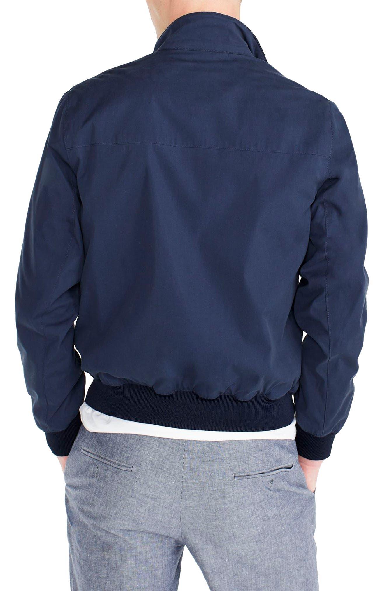 Slim Fit Harrington Jacket,                             Alternate thumbnail 2, color,                             400