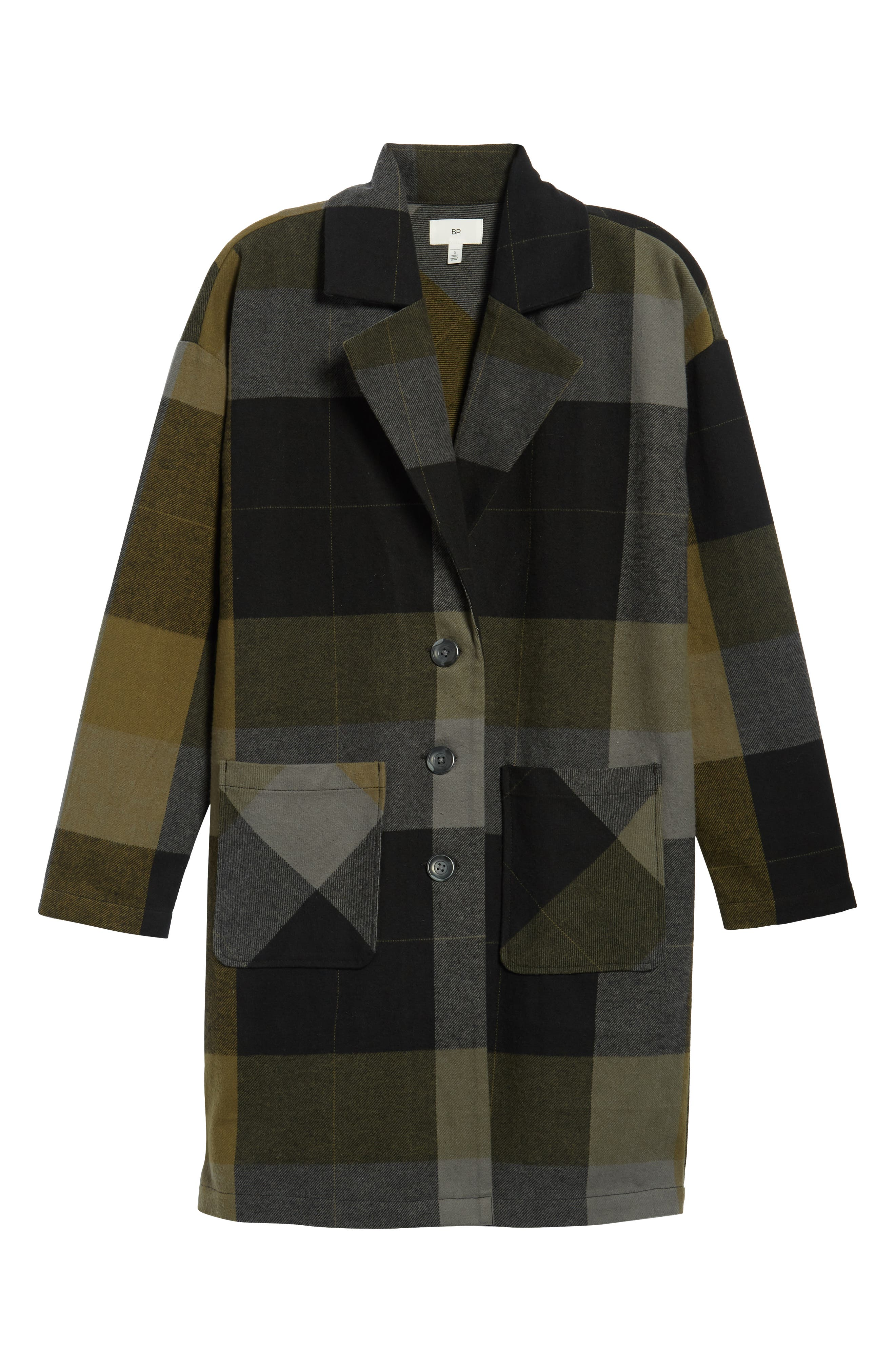 Plaid Duster,                             Alternate thumbnail 7, color,                             001
