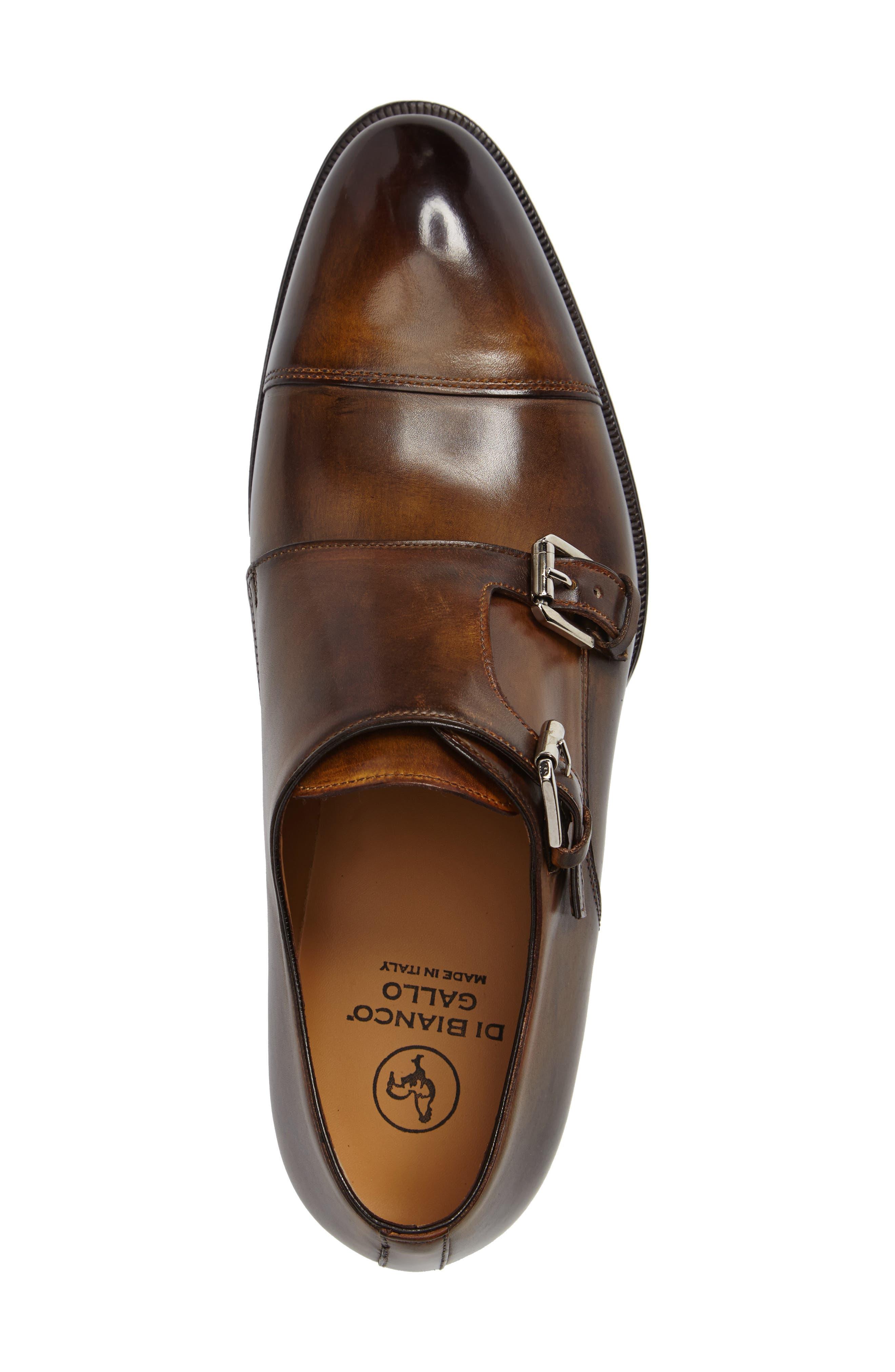 Di Gallo Bianco Blake Double Monk Strap Shoe,                             Alternate thumbnail 3, color,                             210