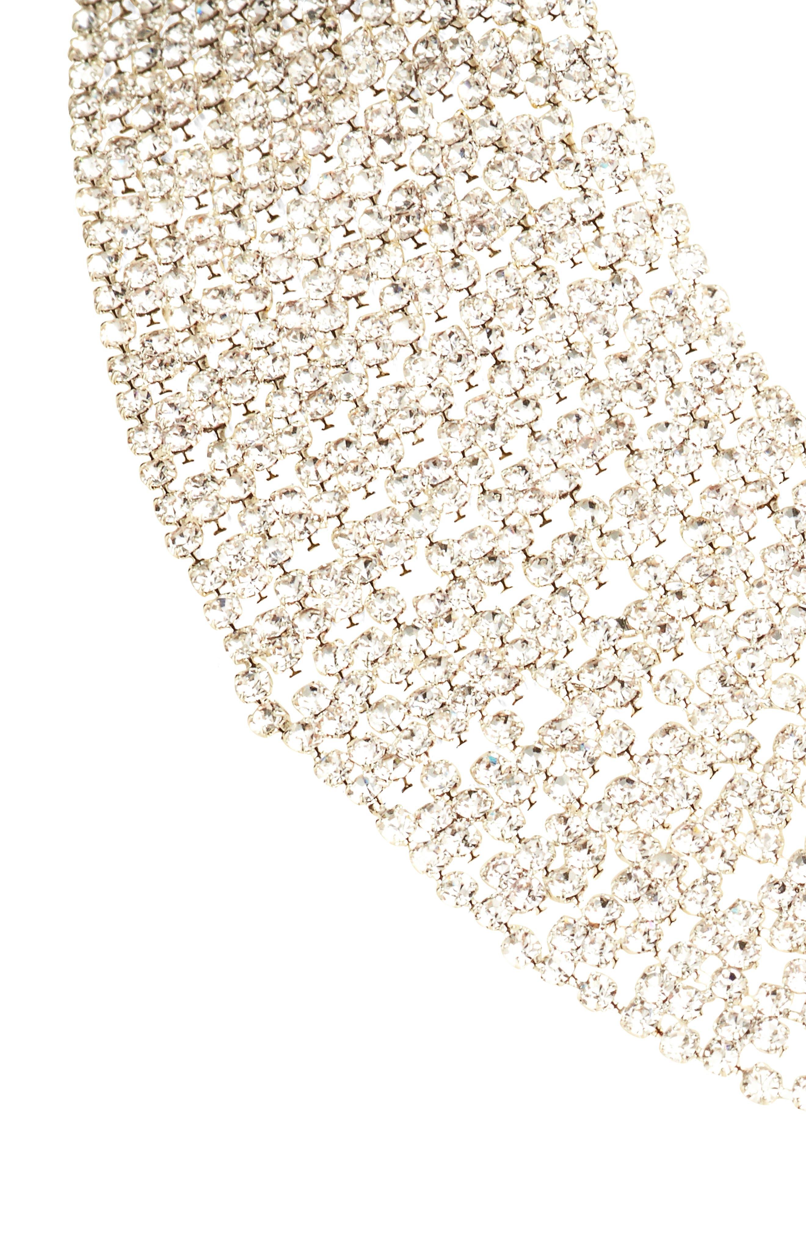 Crystal Collar Necklace,                             Main thumbnail 2, color,
