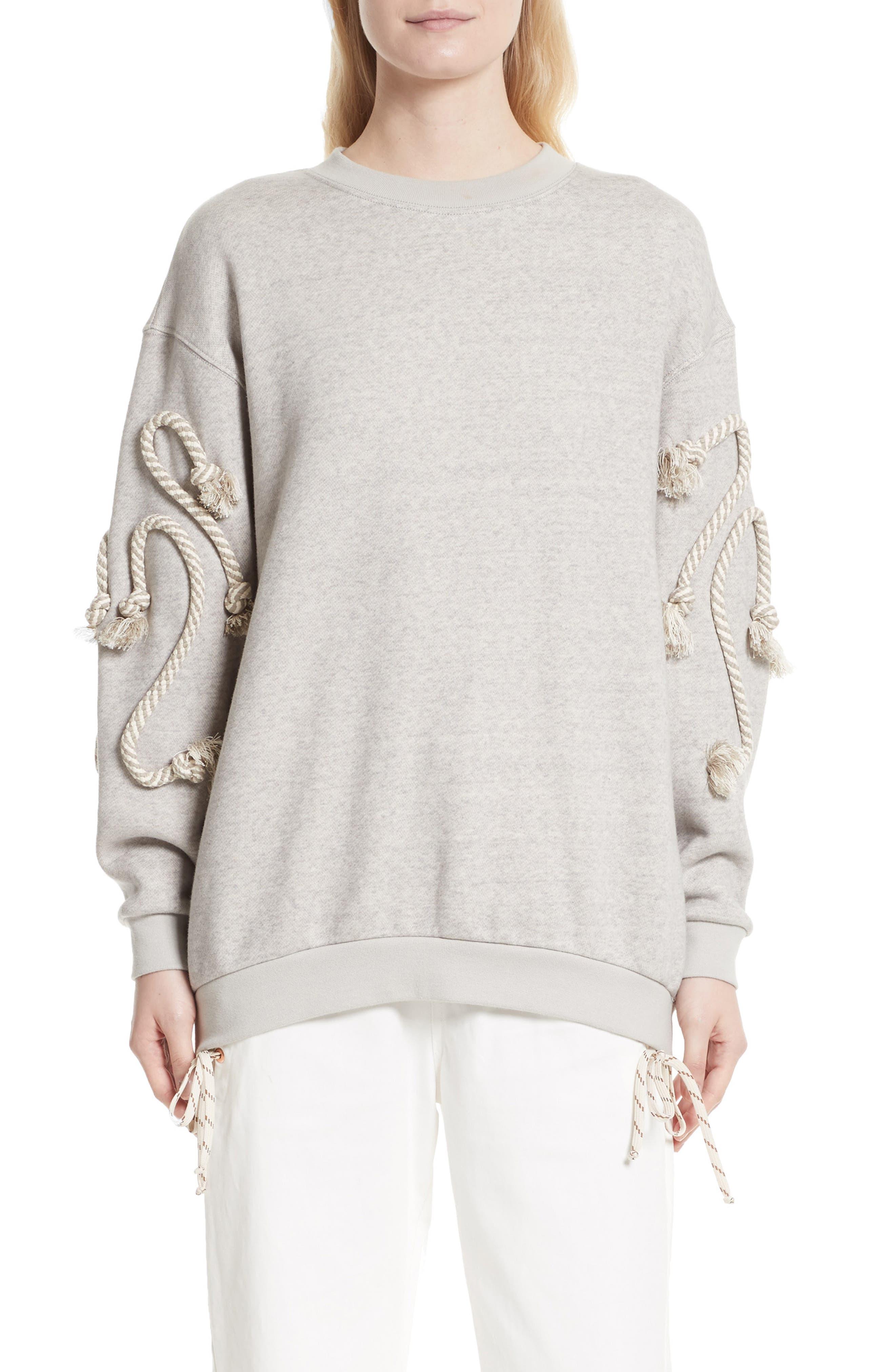 Rope Trim Sweater,                         Main,                         color, 030