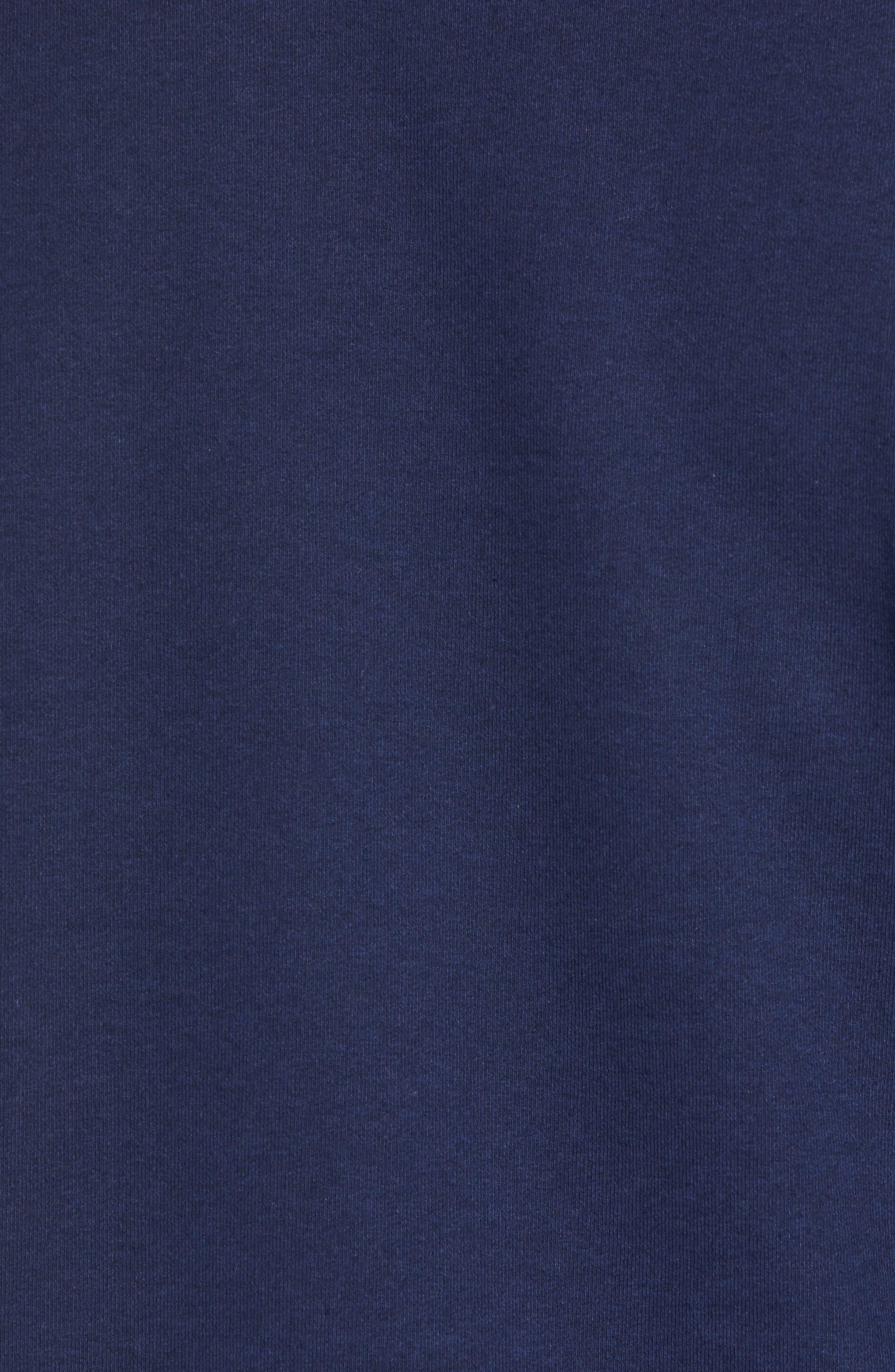 Shop Sticker Patch Uprisal Crew Sweatshirt,                             Alternate thumbnail 5, color,                             CLASSIC NAVY
