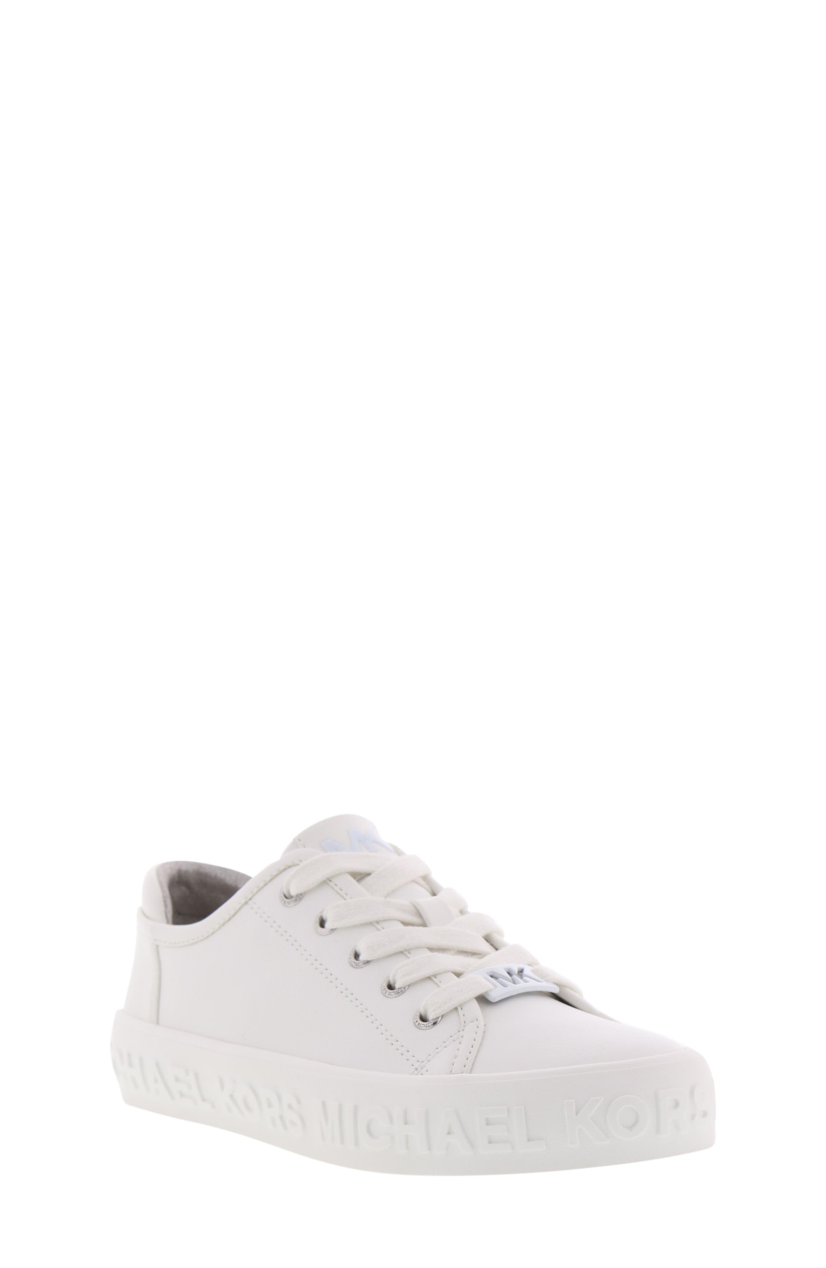 Lemon Spark Logo Sneaker,                             Main thumbnail 1, color,                             WHITE